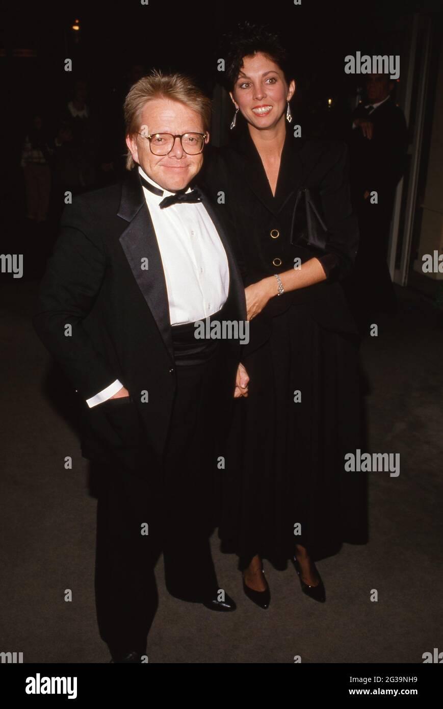 Paul Williams et Cindy Akers Circa des années 80 crédit : Ralph Dominguez/MediaPunch Banque D'Images