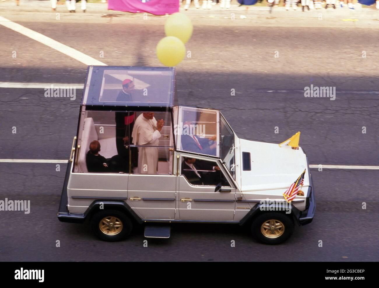 Le pape Jean-Paul II Circa des années 80 crédit: Ralph Dominguez/MediaPunch Banque D'Images