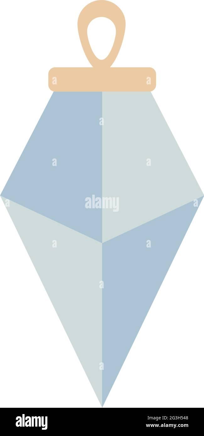 motif cristal de boho Illustration de Vecteur