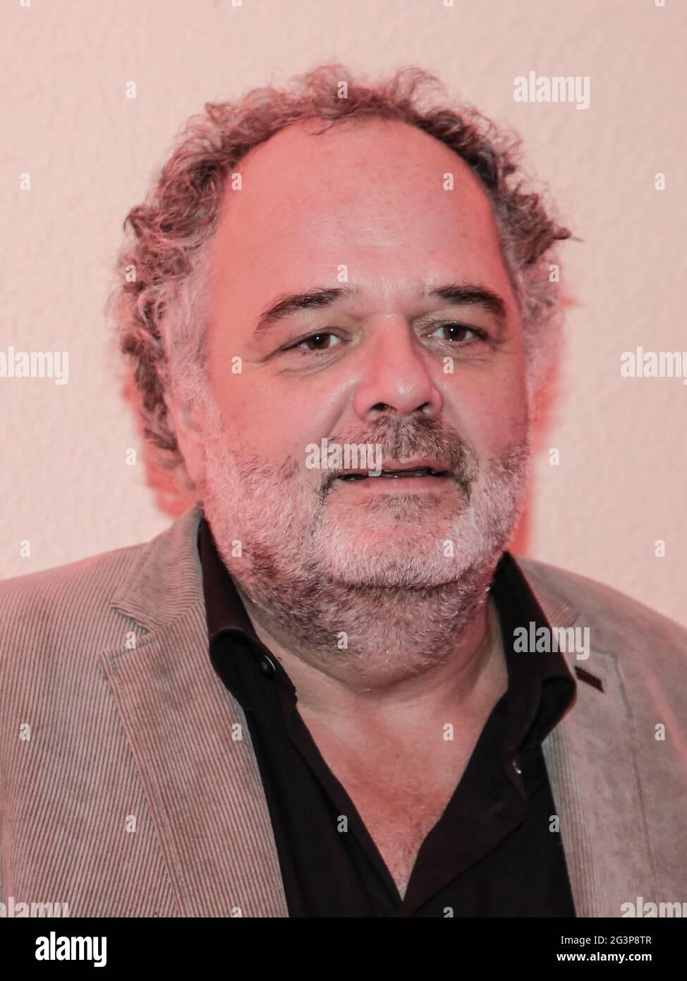 Le chef du spectacle MDR Peter Dreckmann au Festival de l'Avent de 100,000 lumières le 30,2019 novembre Banque D'Images