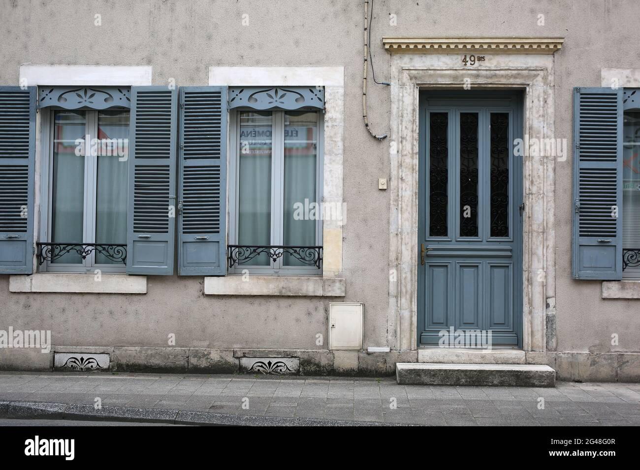 Argenton-sur-Cruese, Indre, France Banque D'Images