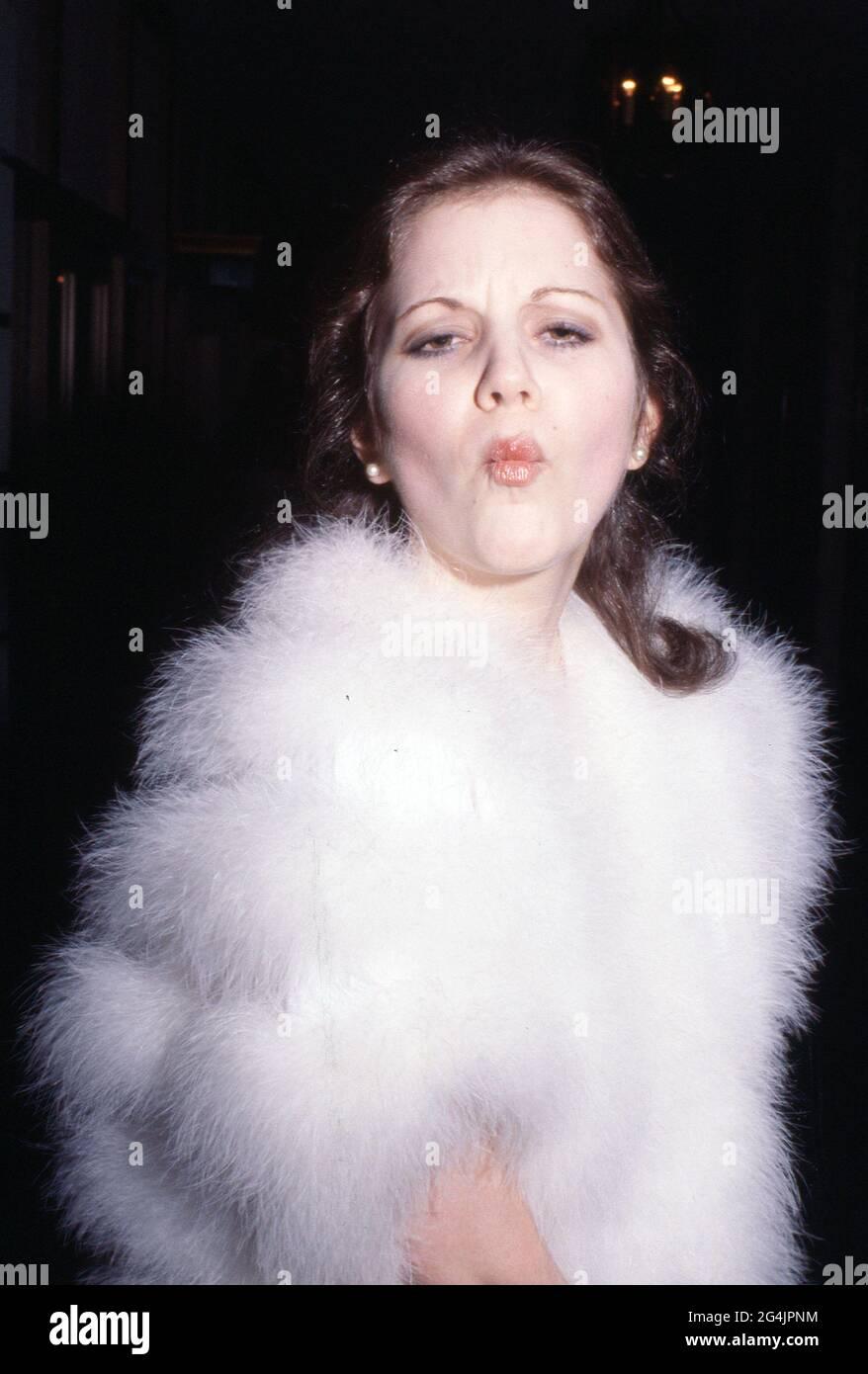 Lesley Browne Circa années 80 crédit: Ralph Dominguez/MediaPunch Banque D'Images