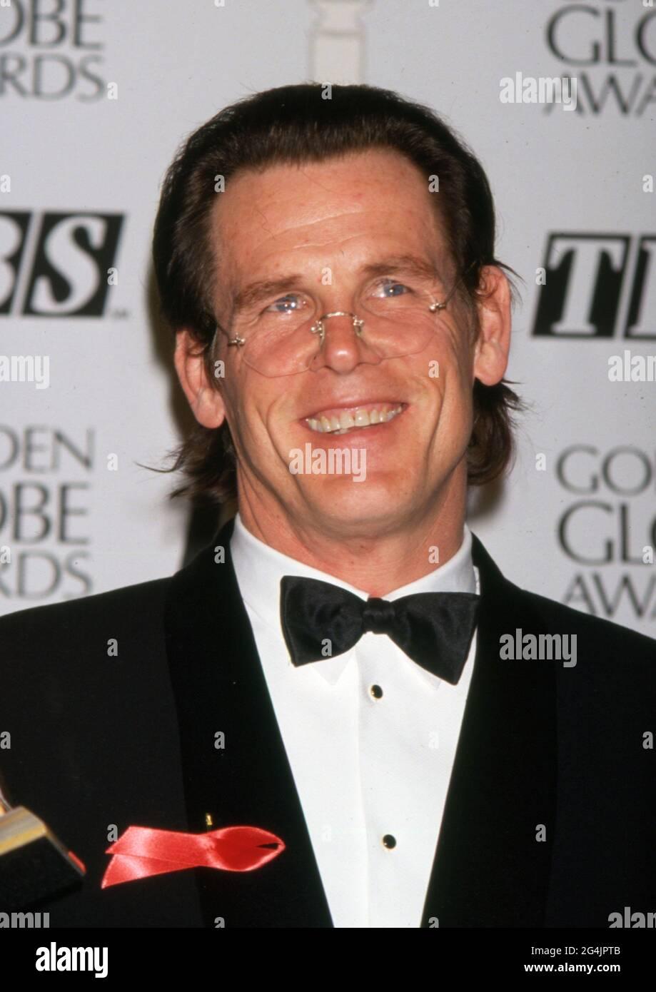 Nick Nolte au 49e Golden Globe Awards annuel à l'hôtel Beverly Hilton de Beverly Hills, Californie 18 janvier 1992 crédit: Ralph Dominguez/MediaPunch Banque D'Images