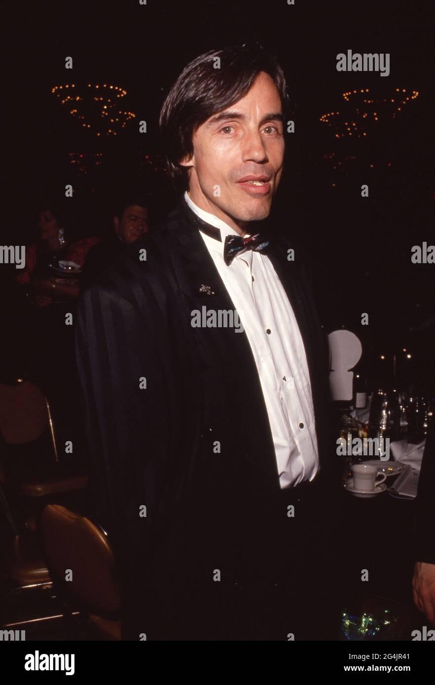 Jackson Browne Mars 1990 crédit: Ralph Dominguez/MediaPunch Banque D'Images