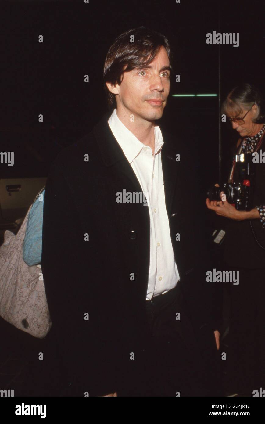 Jackson Browne Circa 1990 crédit: Ralph Dominguez/MediaPunch Banque D'Images