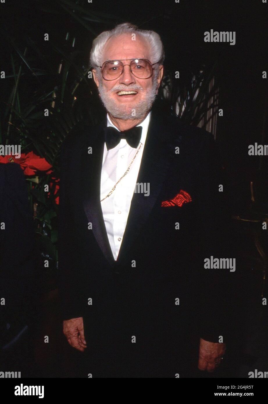 Foster Brooks Circa des années 80 crédit: Ralph Dominguez/MediaPunch Banque D'Images