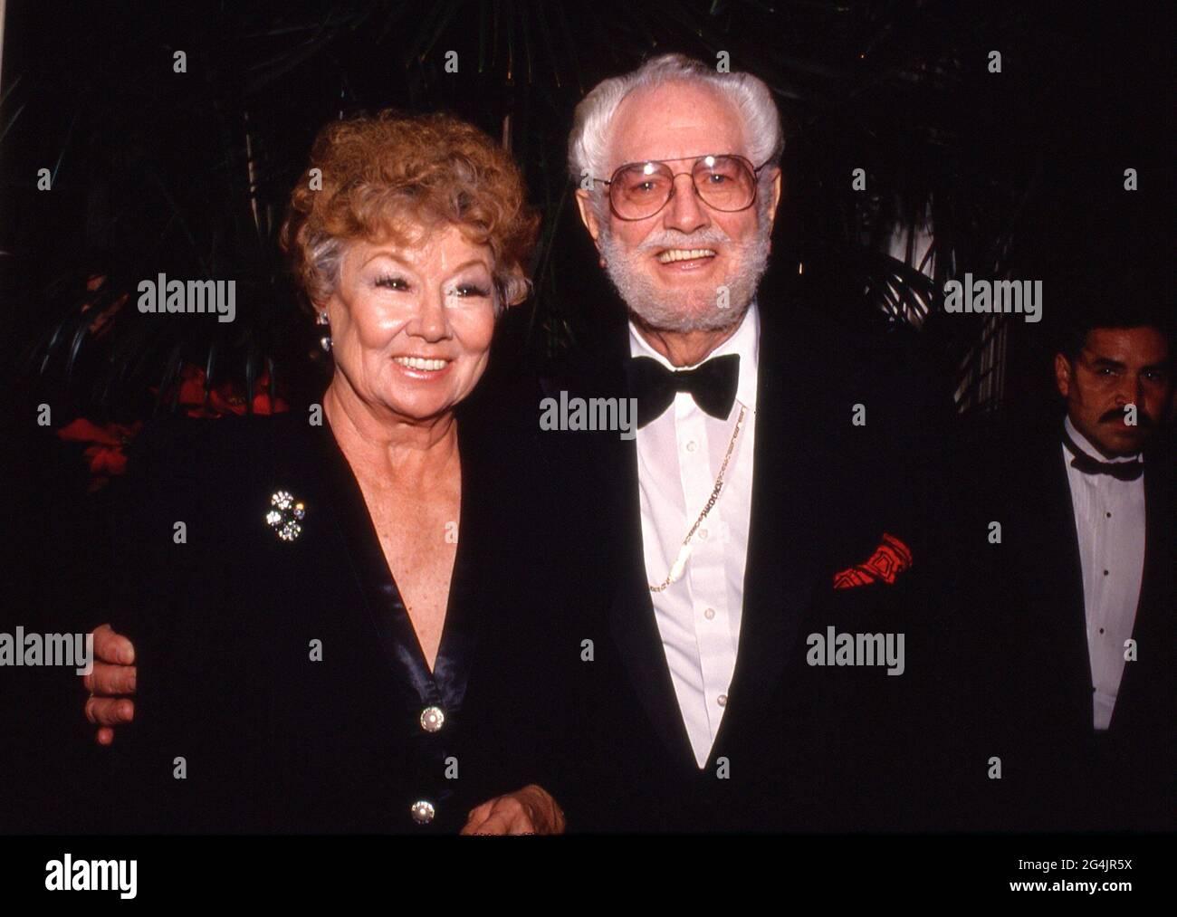 Foster Brooks et épouse Circa années 80 crédit: Ralph Dominguez/MediaPunch Banque D'Images