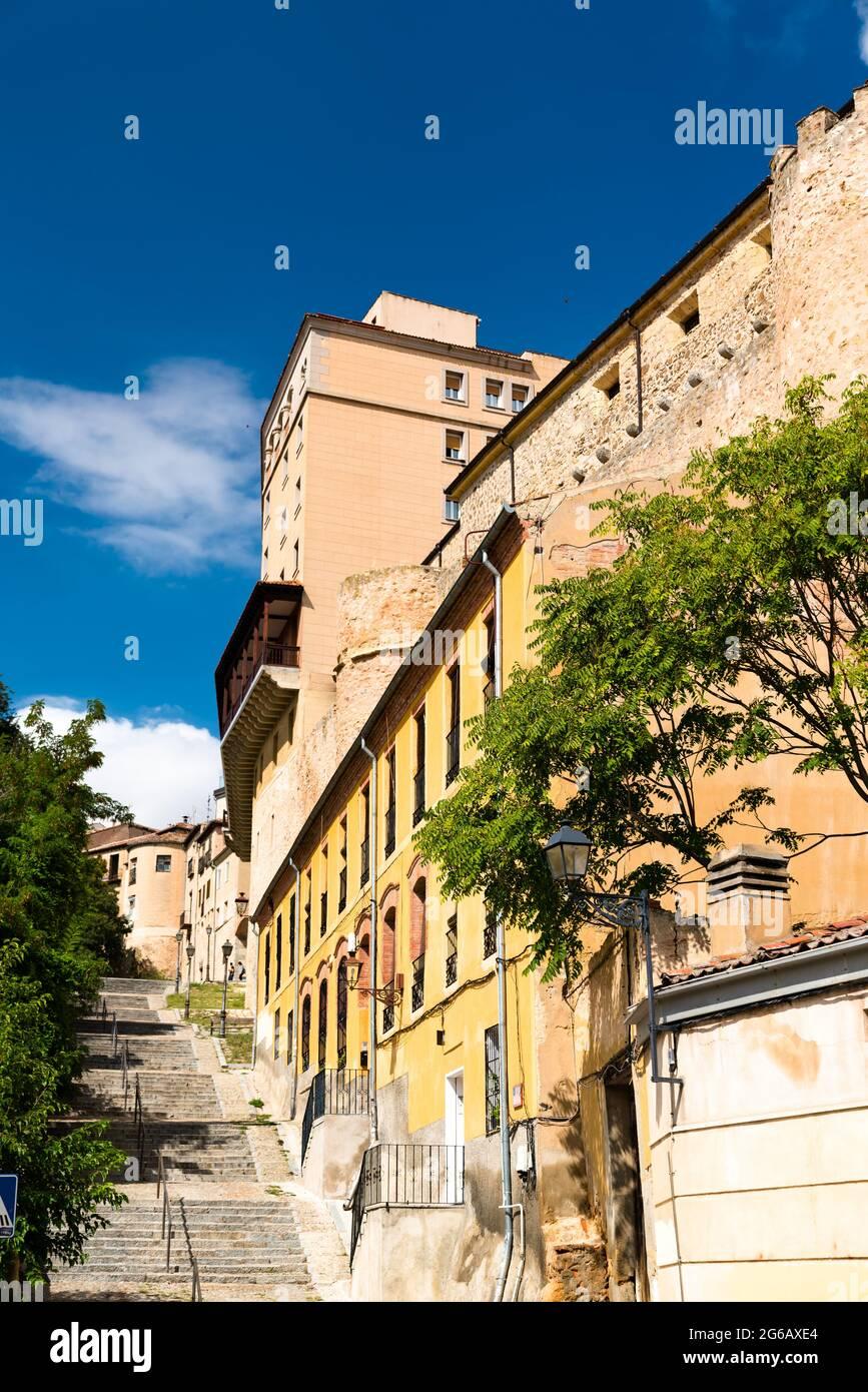 Vieille ville de Ségovie en Espagne Banque D'Images