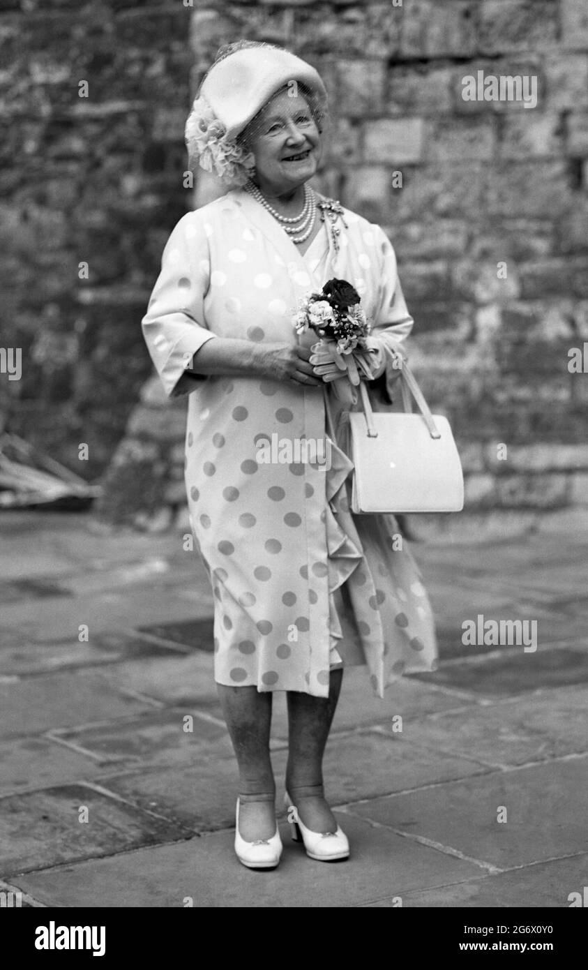 La Reine Mère Banque D'Images