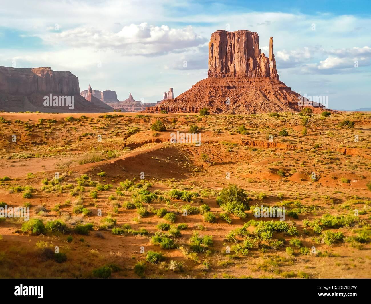 Monument Valley, Utah, États-Unis, Banque D'Images