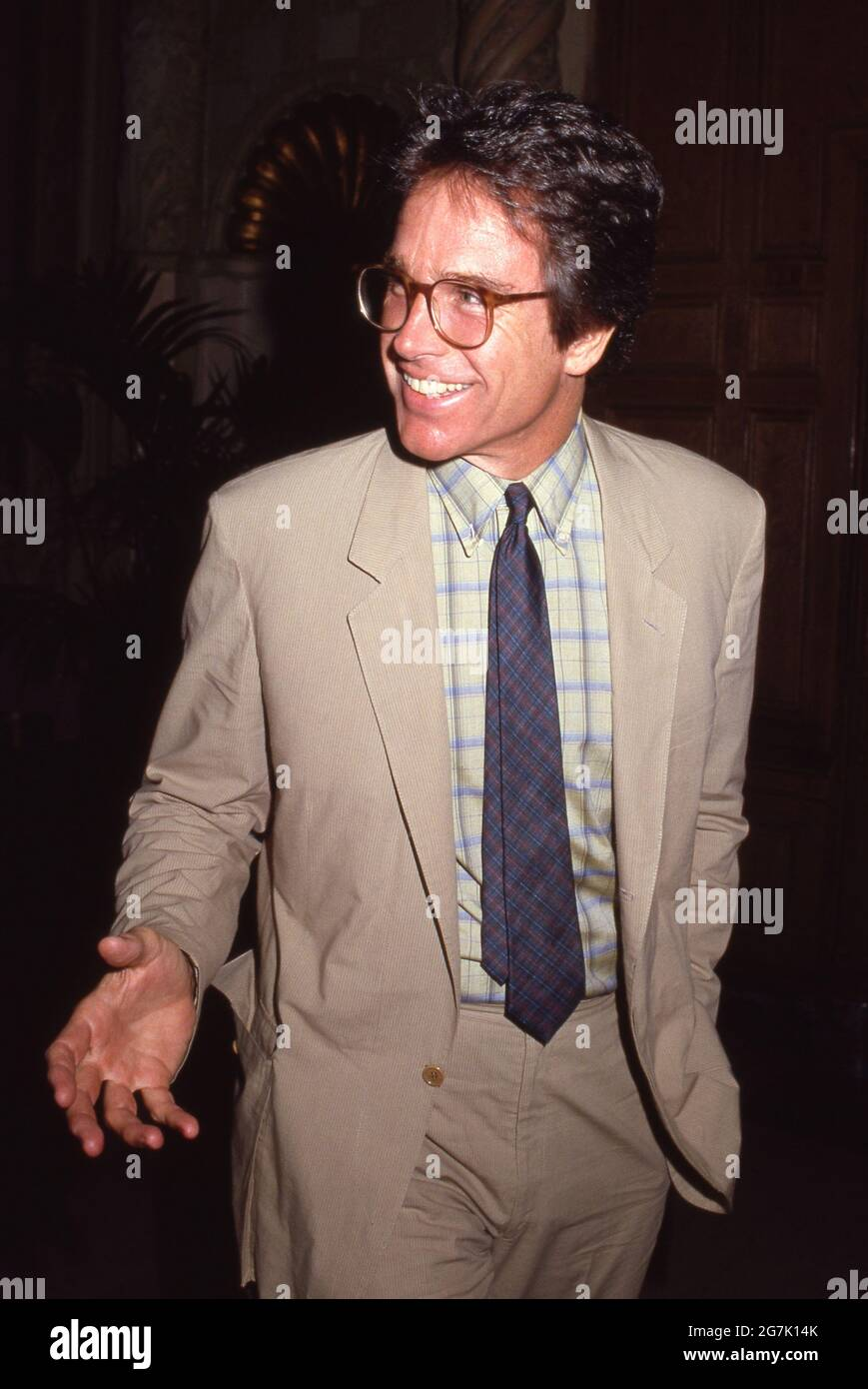 Warren Beatty Circa années 80 crédit: Ralph Dominguez/MediaPunch Banque D'Images
