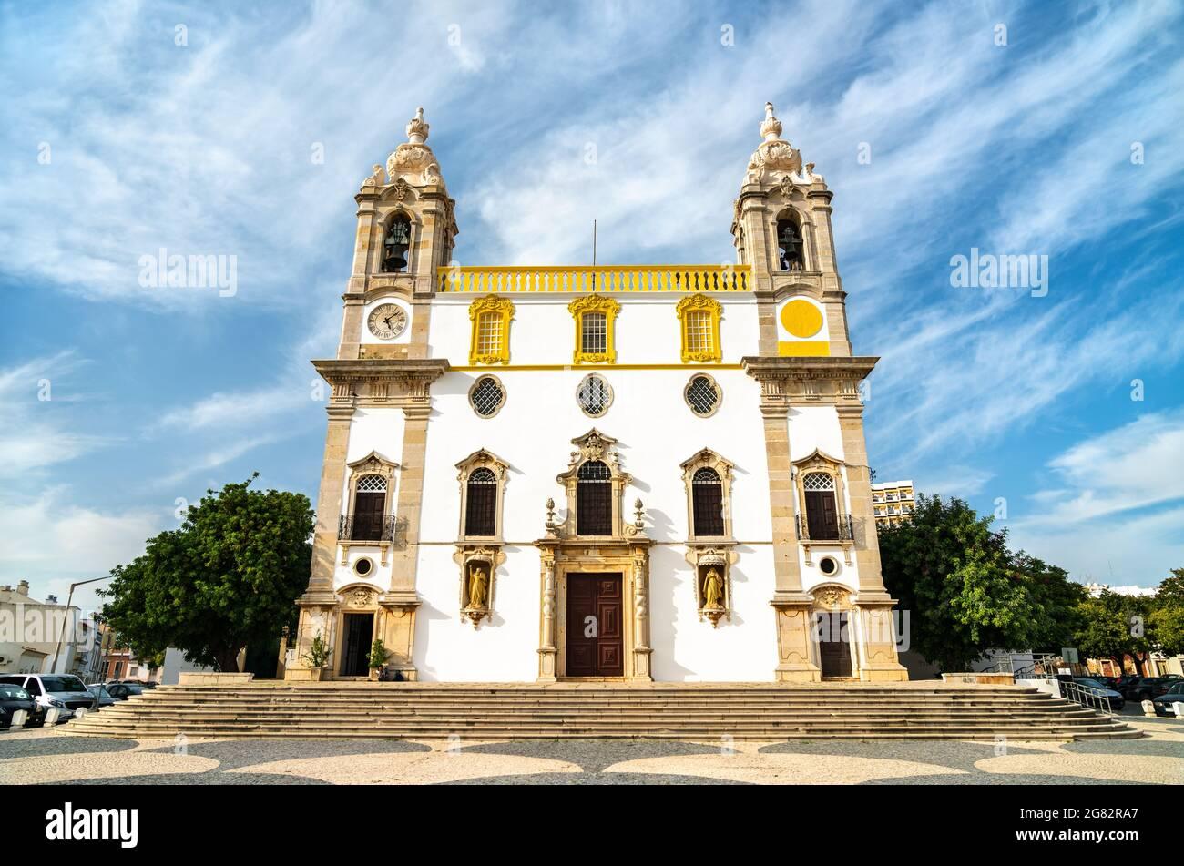 Igreja do Carmo, une église de Faro, Portugal Banque D'Images