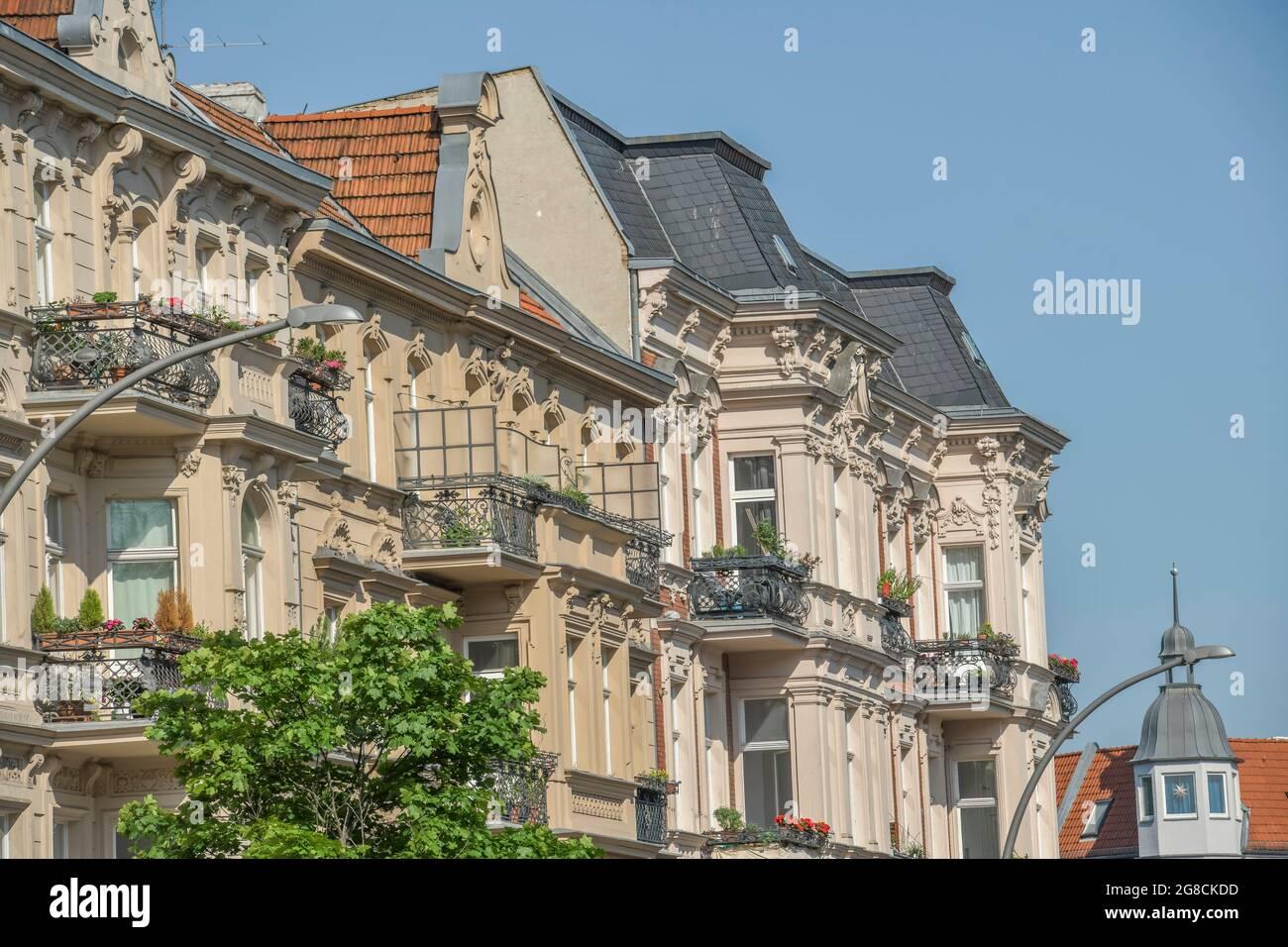 Schmiljanstrasse, Altbau, Friedenau, Berlin, Deutschland Banque D'Images