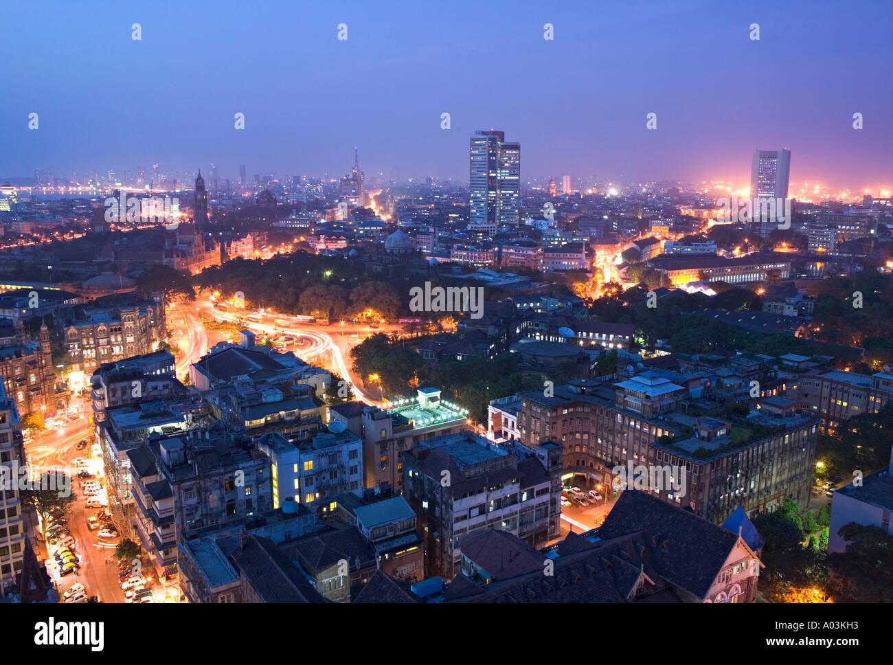 Centre-ville, à Mumbai (Bombay), Inde Photo Stock