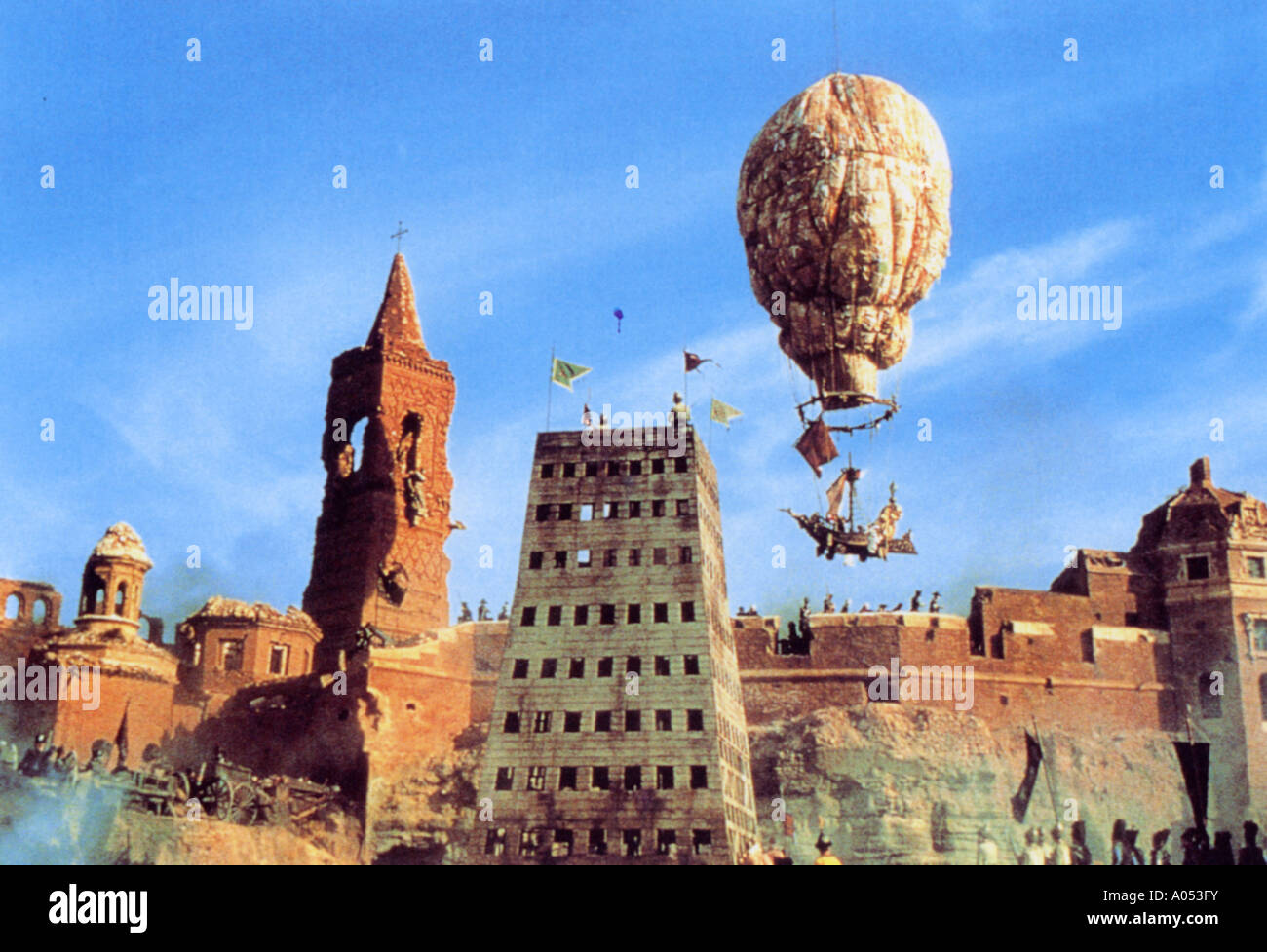 Aventures du Baron de Münchhausen 1989 Principales caractéristiques du film Photo Stock