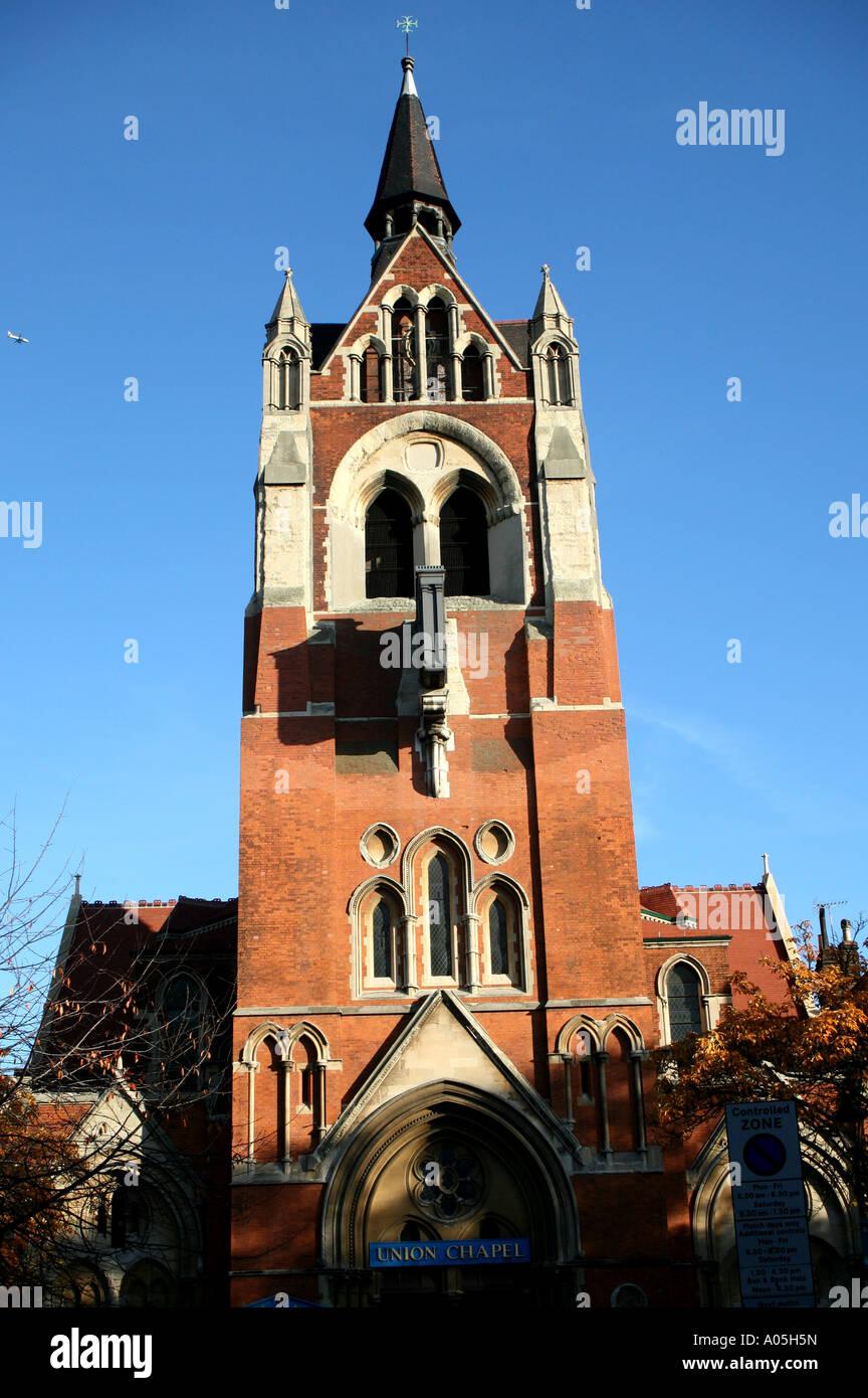 Union Chapel à Islington, Londres Banque D'Images