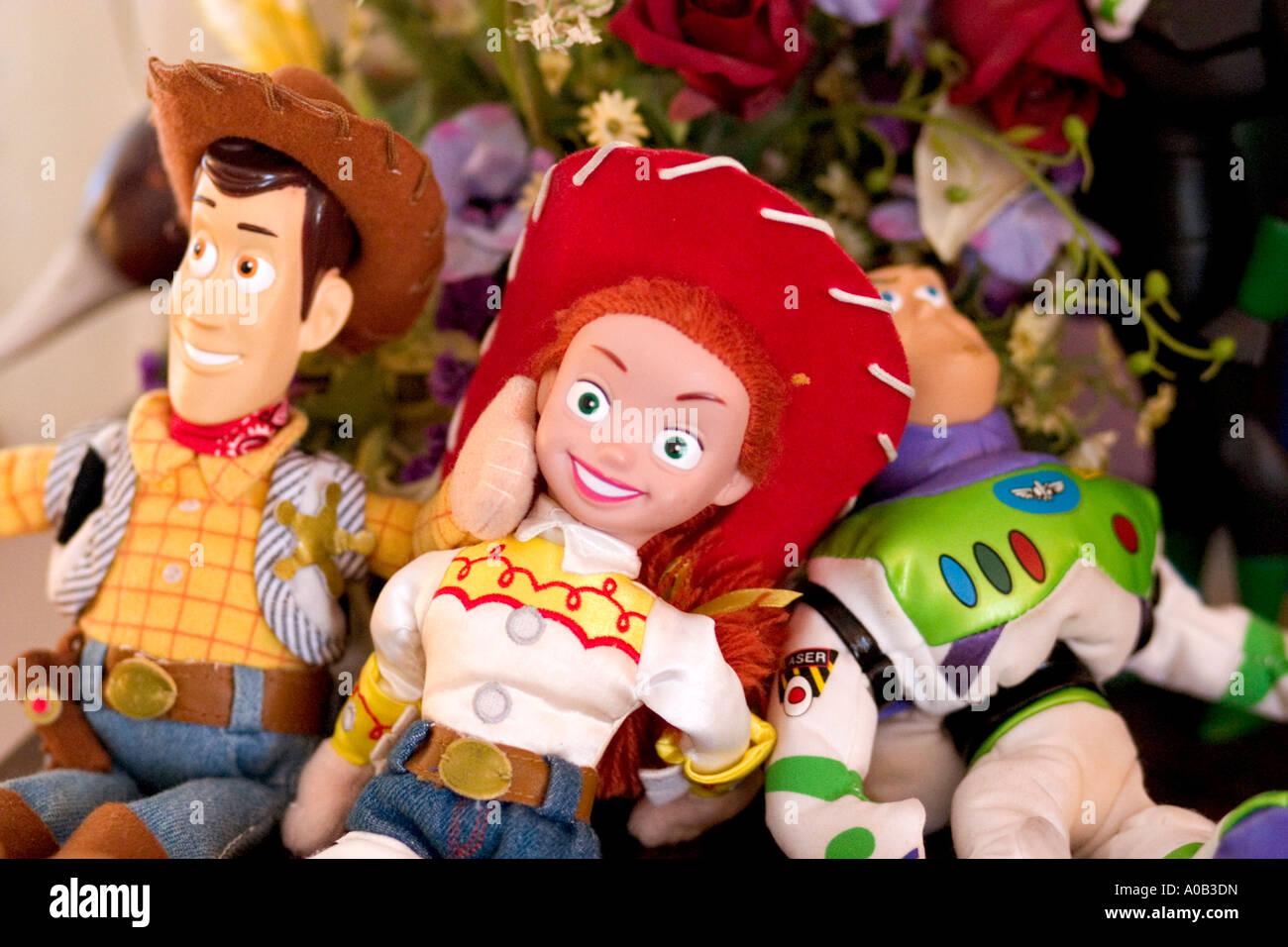 Poupées Toy Story Woody Jessie et Buzz Lightyear prêt à jouer. St Paul  Minnesota MN 92c59a54600