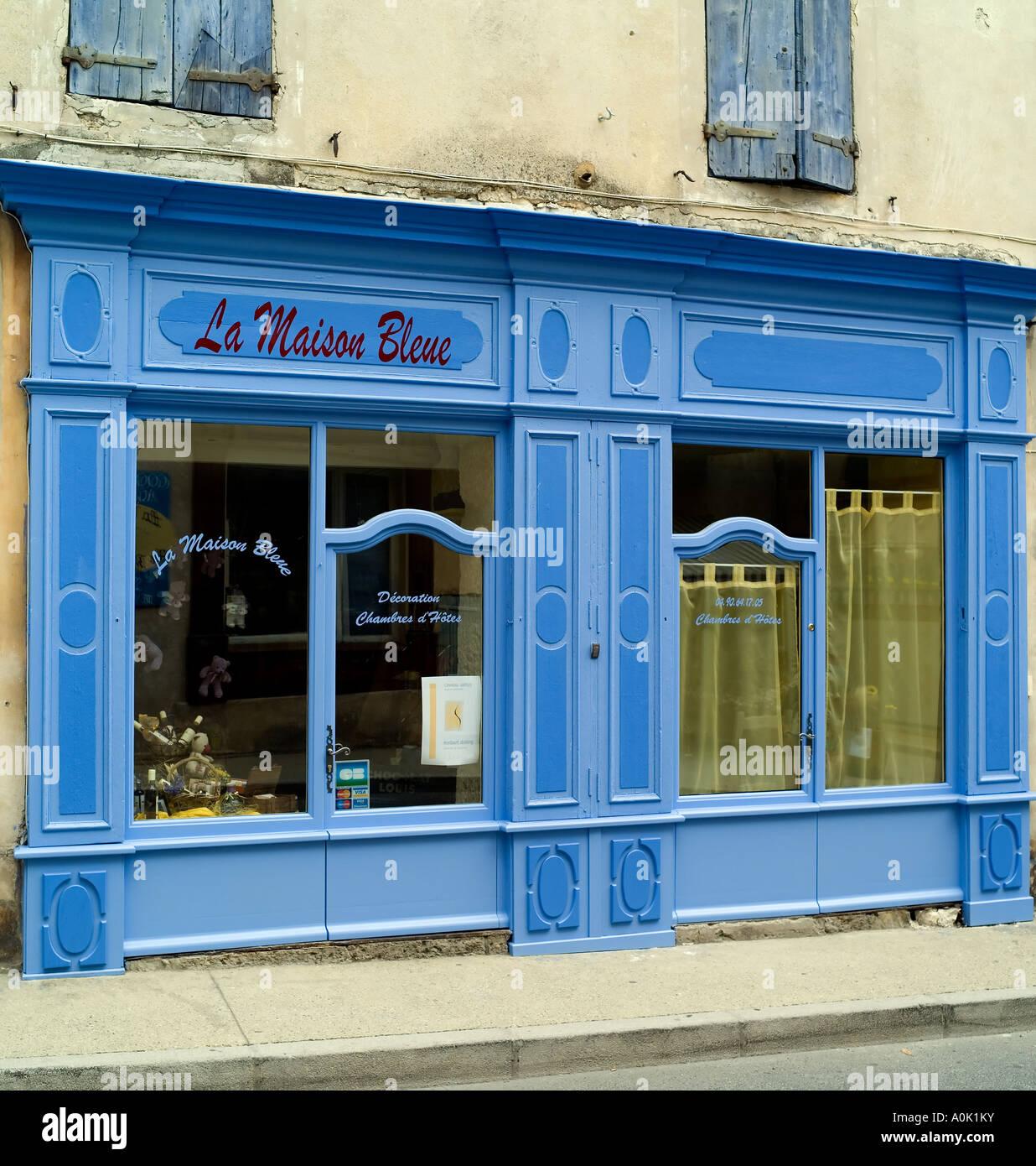 La Maison Bleue, La maison bleue/boutique, magasin de décoration ...