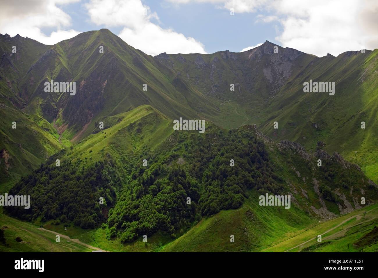 Le Massif du Sancy (Puy de Dôme - France). Massif du Sancy (Puy-de-Dôme 63 - France). Photo Stock