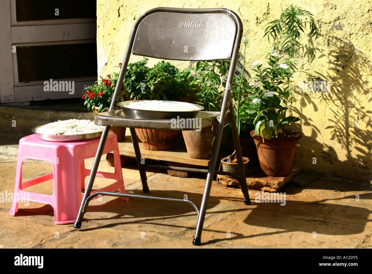 Le S Chage Des Grains75128 Rsc Sun Sur Acier Chaise Et Tabouret En