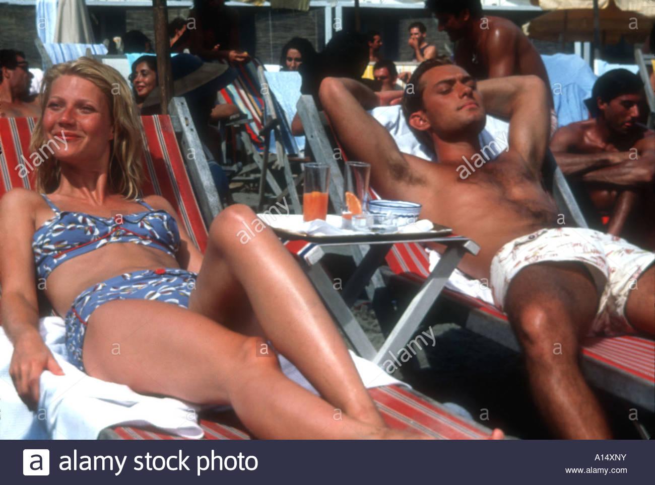 Le talentueux Mr Ripley 2000 réalisateur Anthony Minghella Gwyneth Paltrow Jude Law basé sur le livre Photo Stock