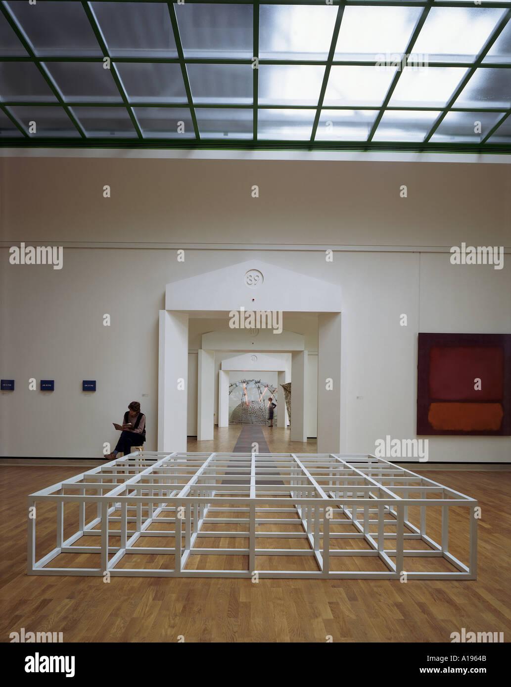 Staatsgalerie, Stuttgart (1977-1984) - Art Gallery, museum et civic center. Architecte: Stirling et Wilford Photo Stock