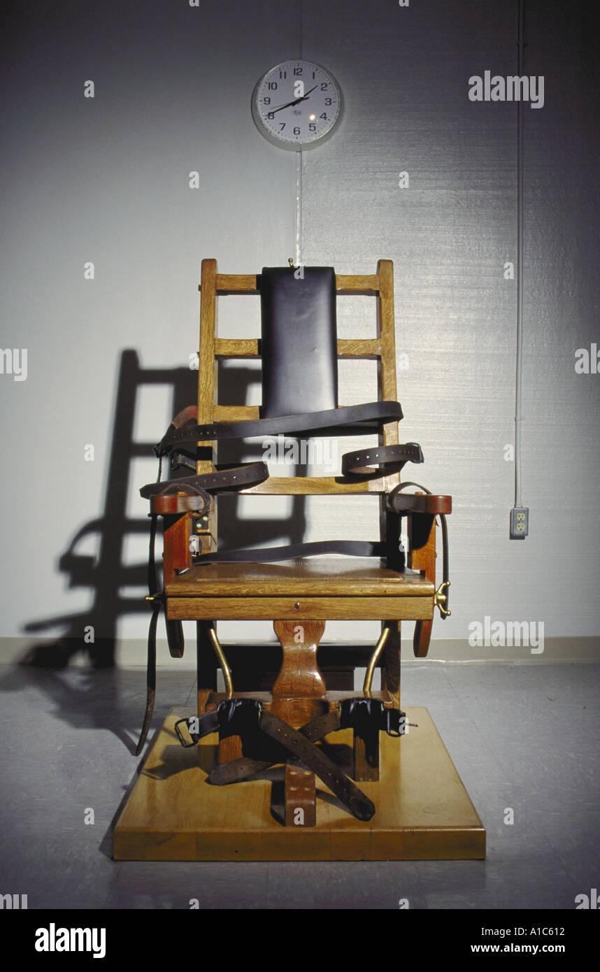 La Chaise électrique Pour La Peine De Mort Au Centre Correctionnel