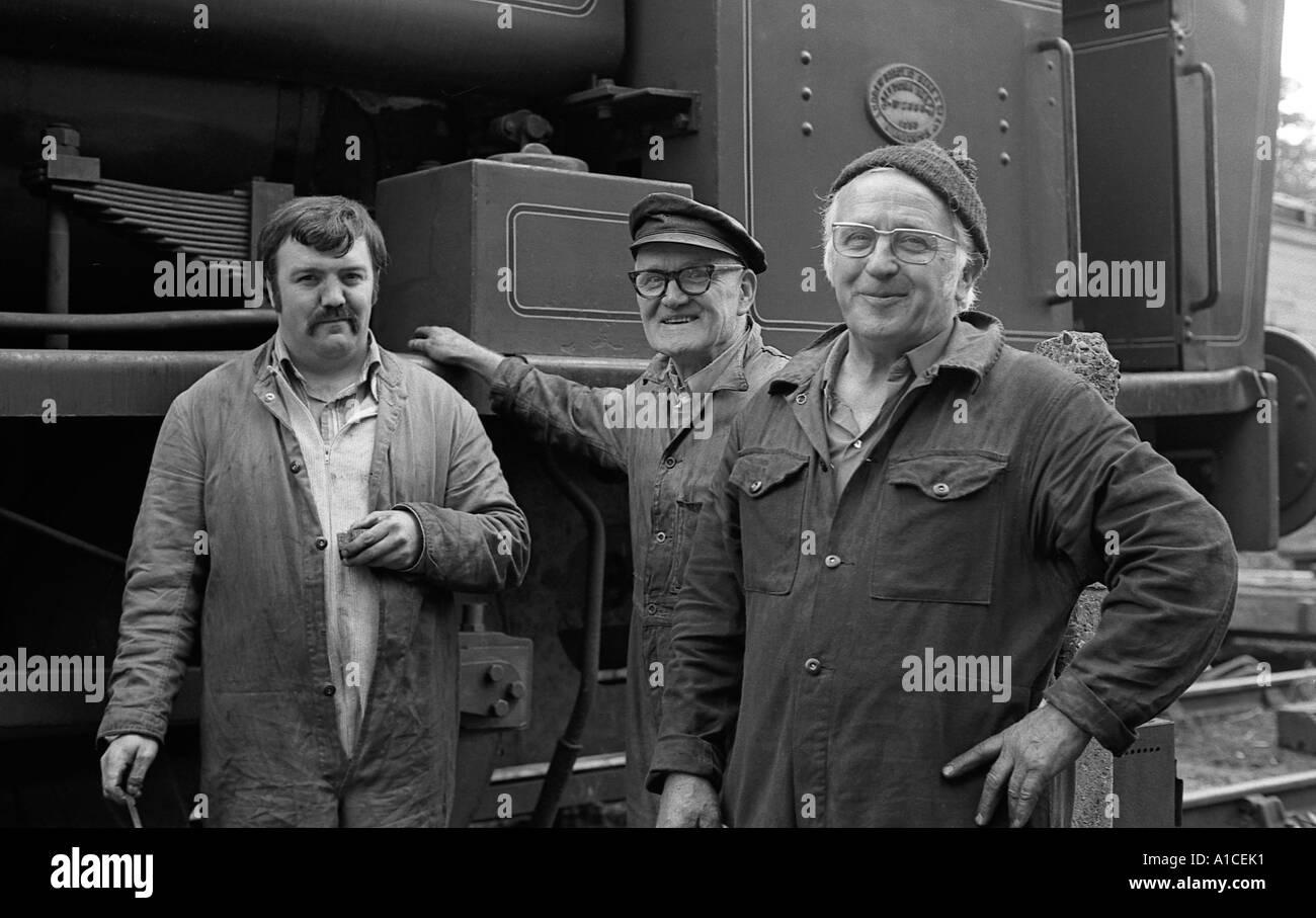 Le travail et les travailleurs en monochrome. Banque D'Images