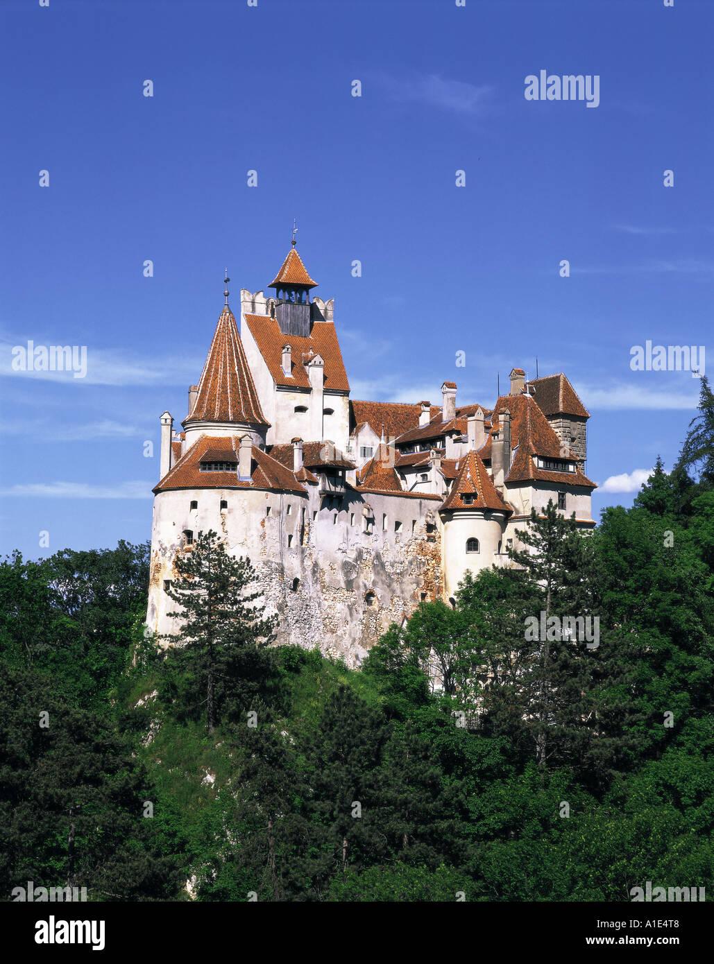 Le Château de Bran en Roumanie Photo Stock