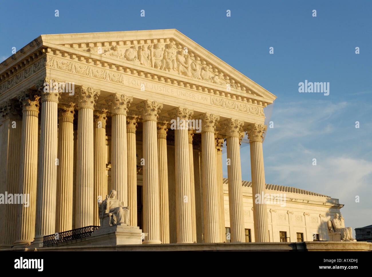 La cour suprême des États-Unis United States building Photo Stock