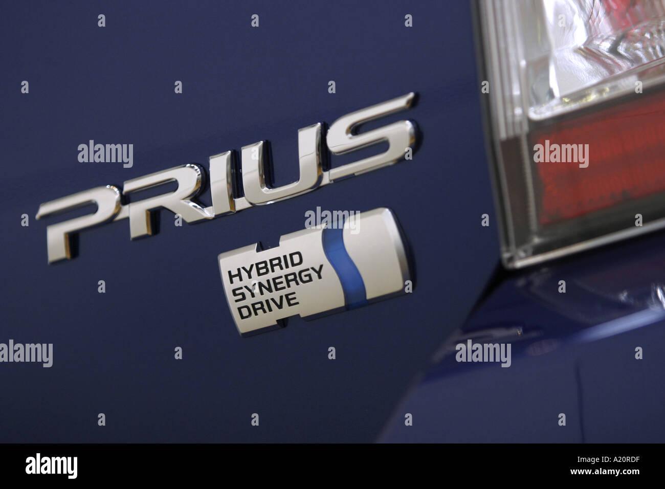 Véhicule moteur hybride Toyota Prius Photo Stock