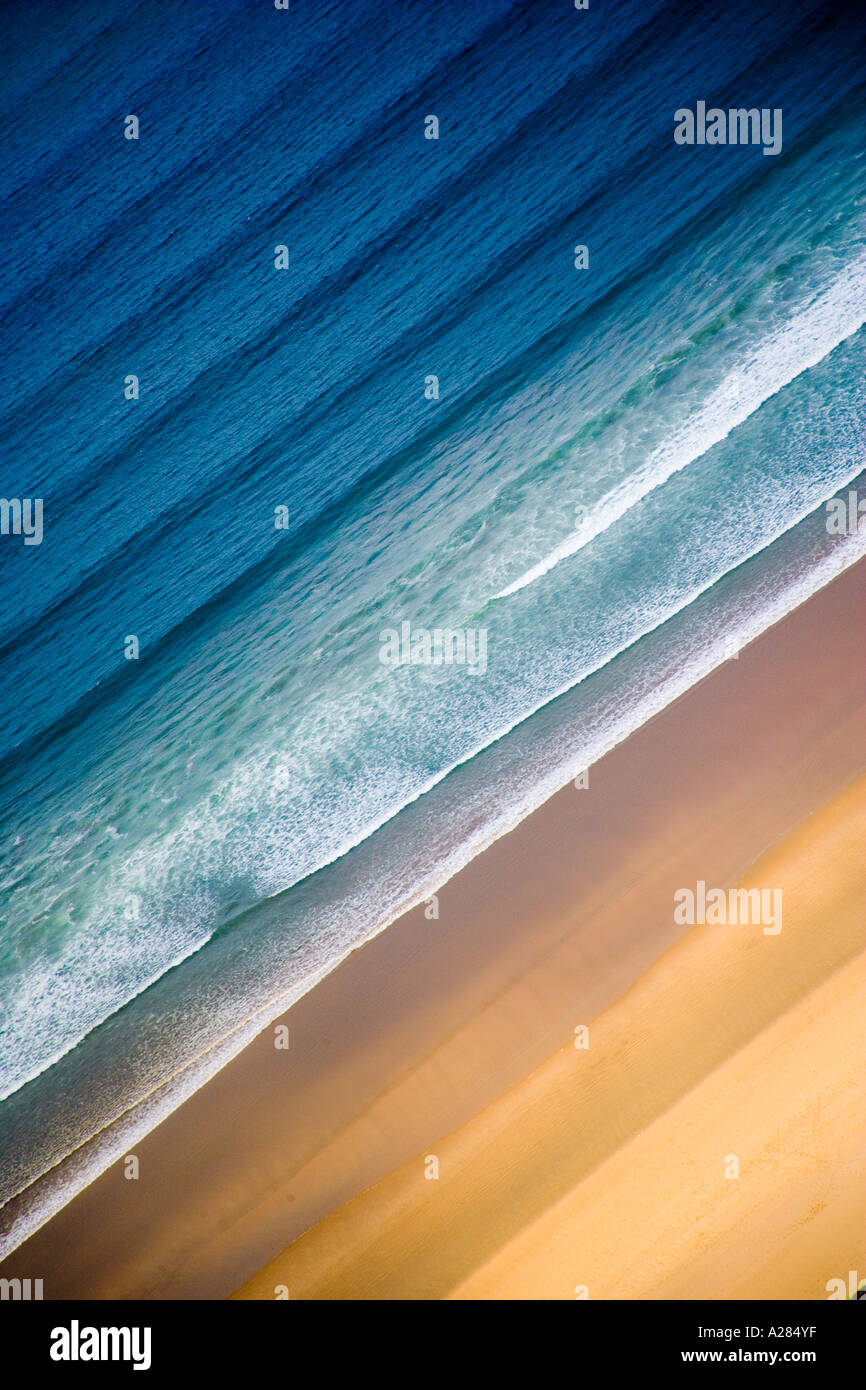 Mer de sable & Photo Stock