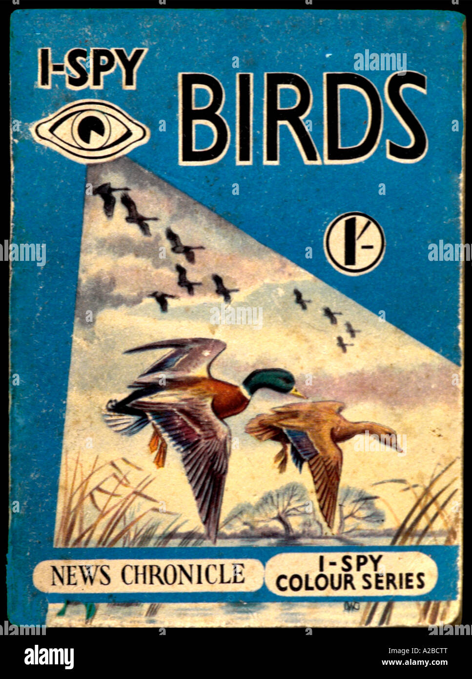 I-Spy Books 1950 1960 pour un usage éditorial uniquement Photo Stock