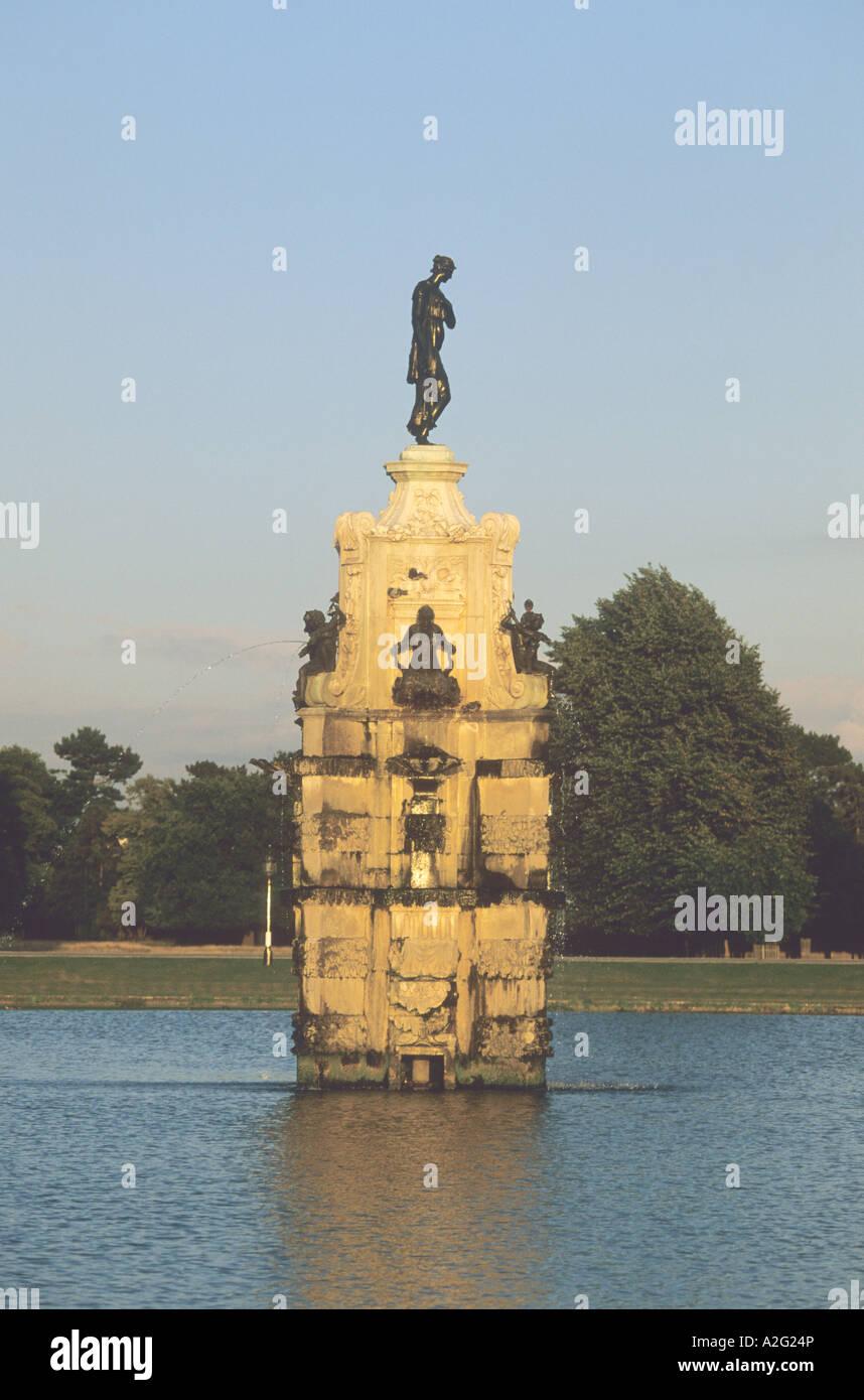La fontaine de Diana à Bushy Park, Londres Photo Stock