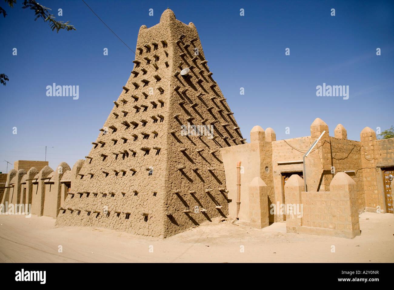 Mosquée sankoré à Tombouctou.Mali,l'Afrique de l'Ouest Photo Stock