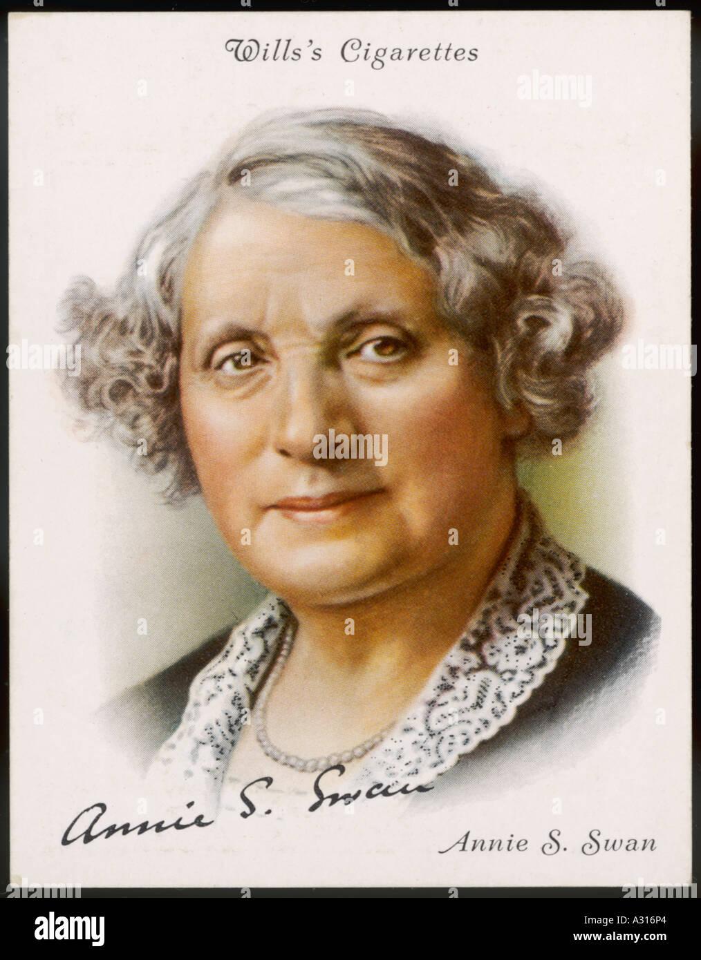 Annie S Swan carte ACSG Banque D'Images