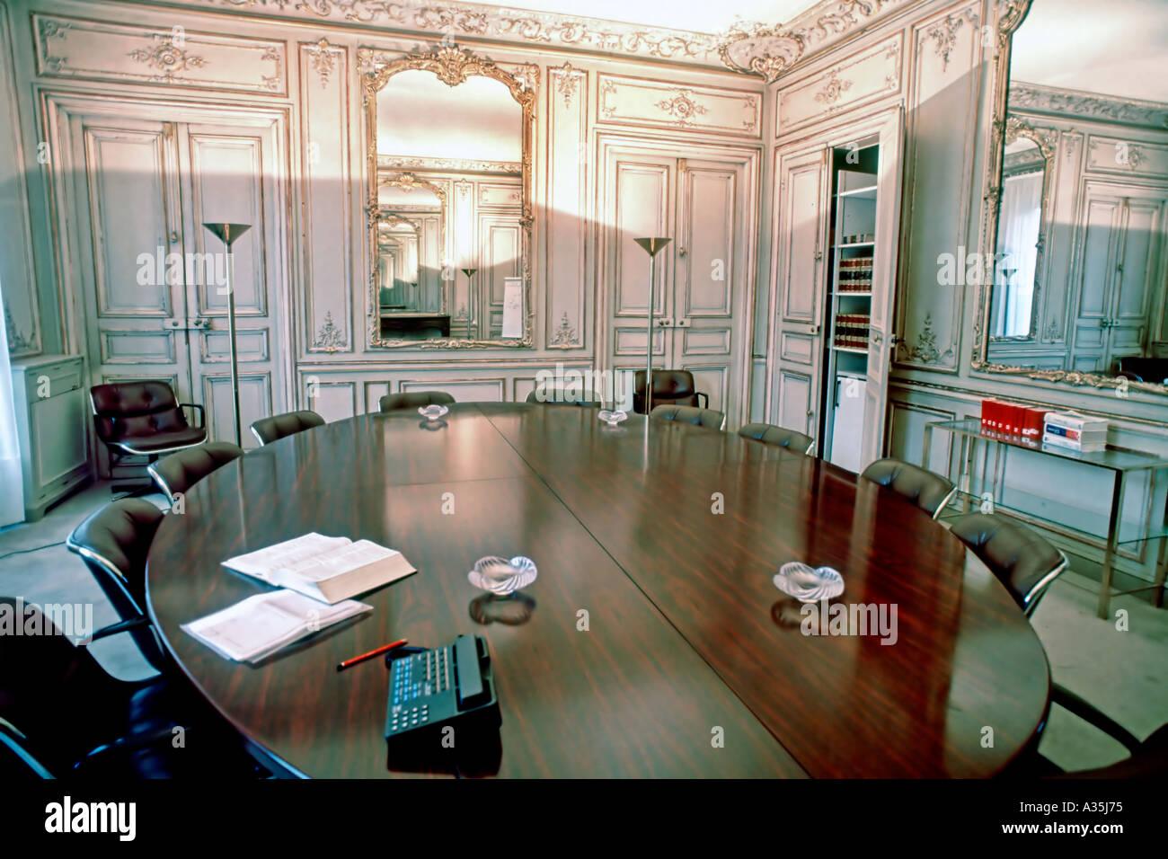 Office interior paris france la salle de conférence au bureau d