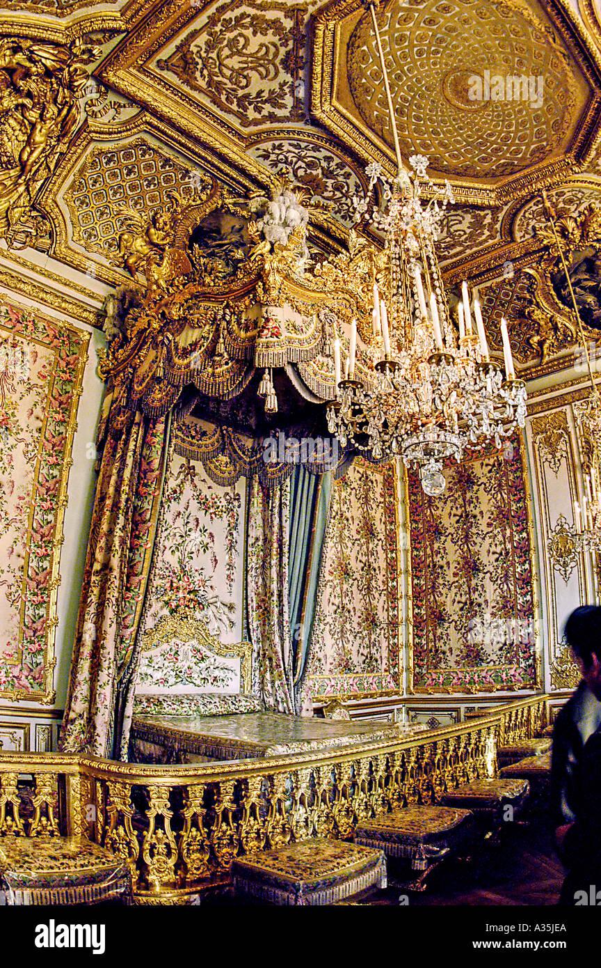 PARIS France, Château De Versailles Château, Vue De Lu0027intérieur, Chambre Du  Roi, Monument, Architecture Du0027Intérieur, Le Luxe Royal, Château Français ...
