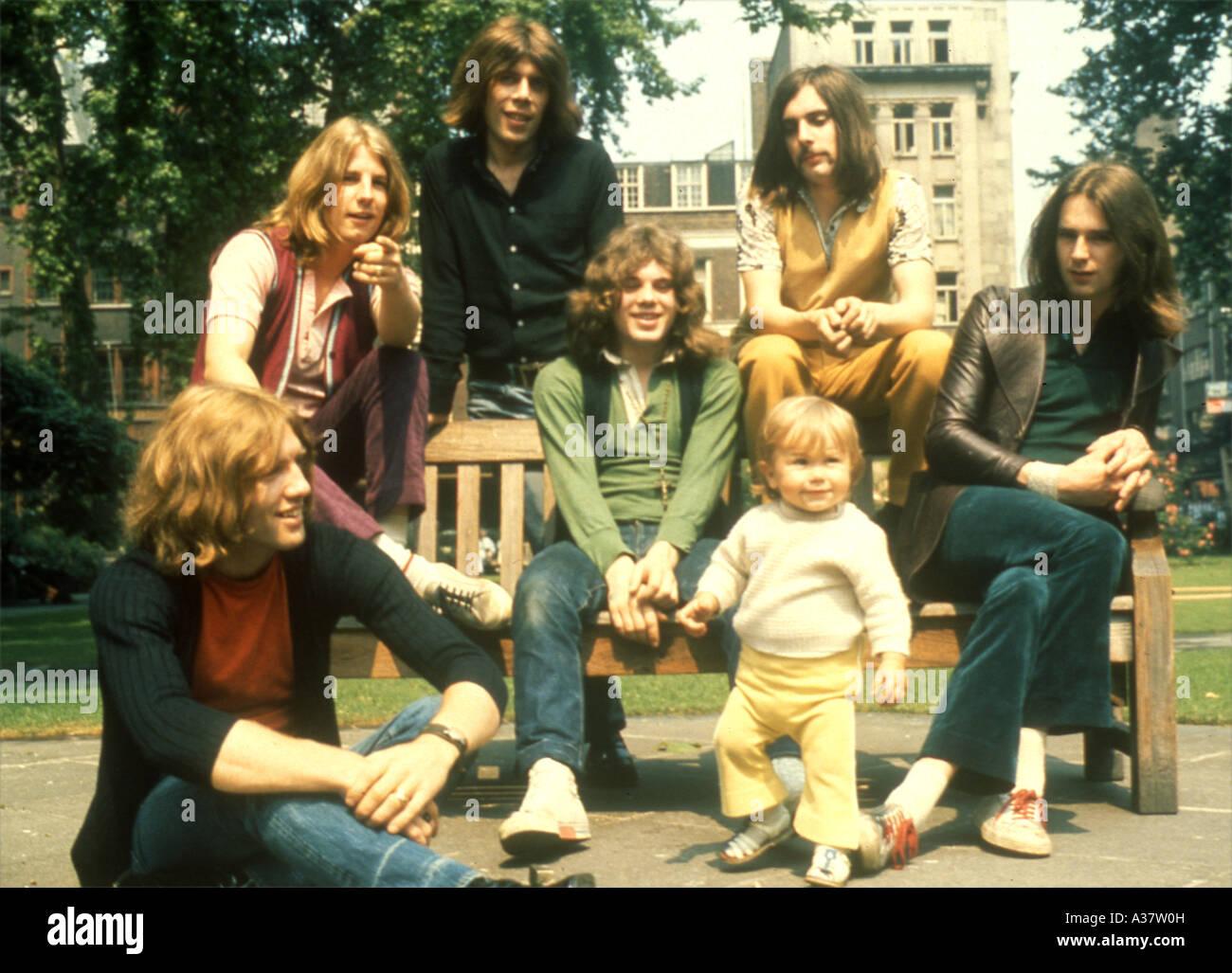 STATUS QUO UK Group en 1968 environ Banque D'Images