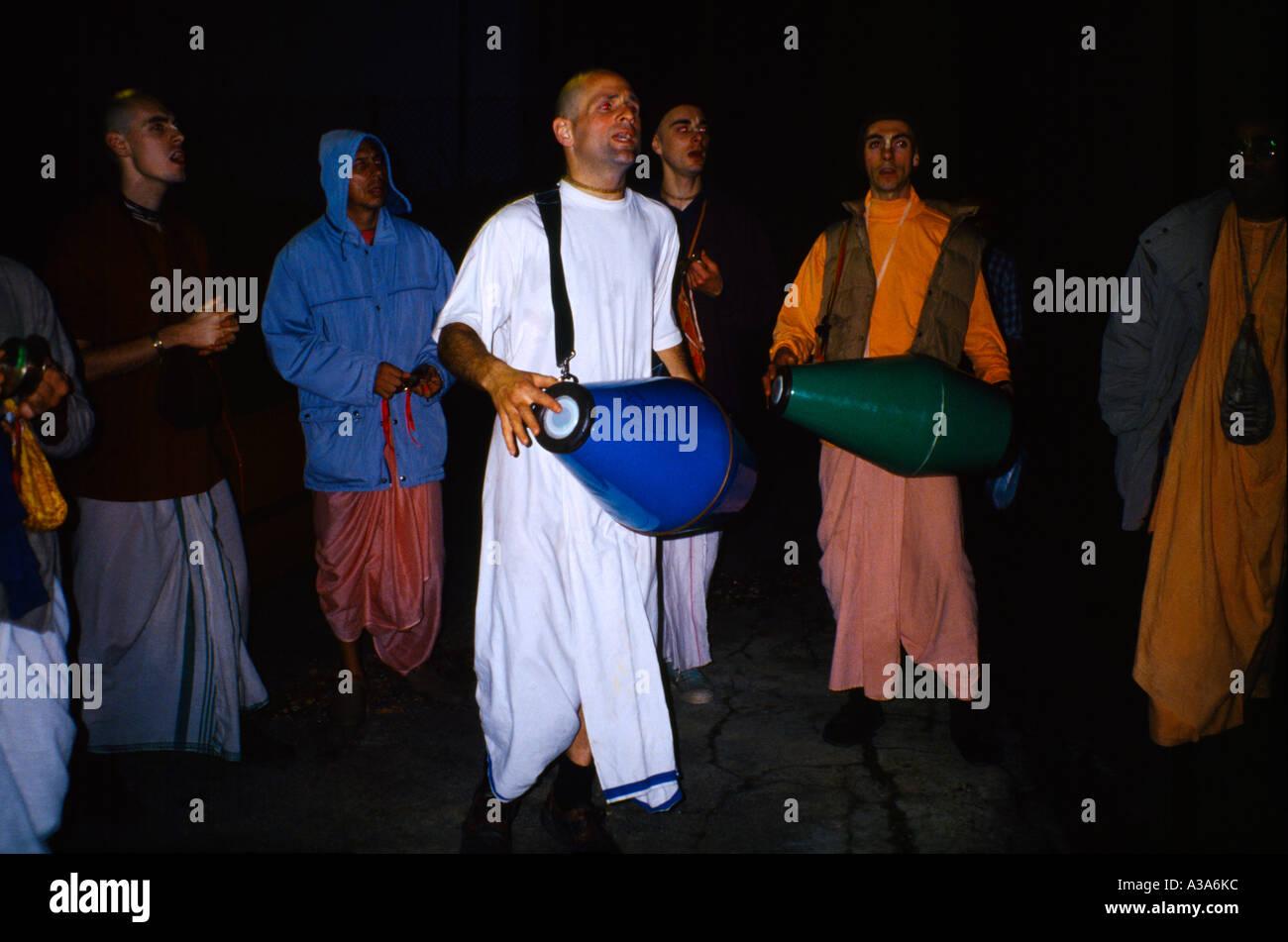 Angleterre Londres Wembley Diwali Hare Krishna Parade Banque D'Images