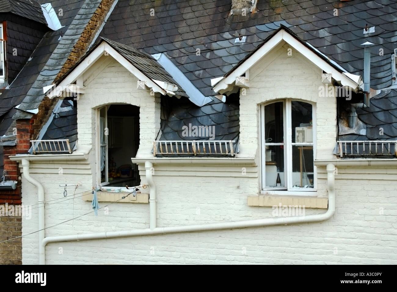 appartement mansardé dans une maison d'avant-guerre à wiesbaden