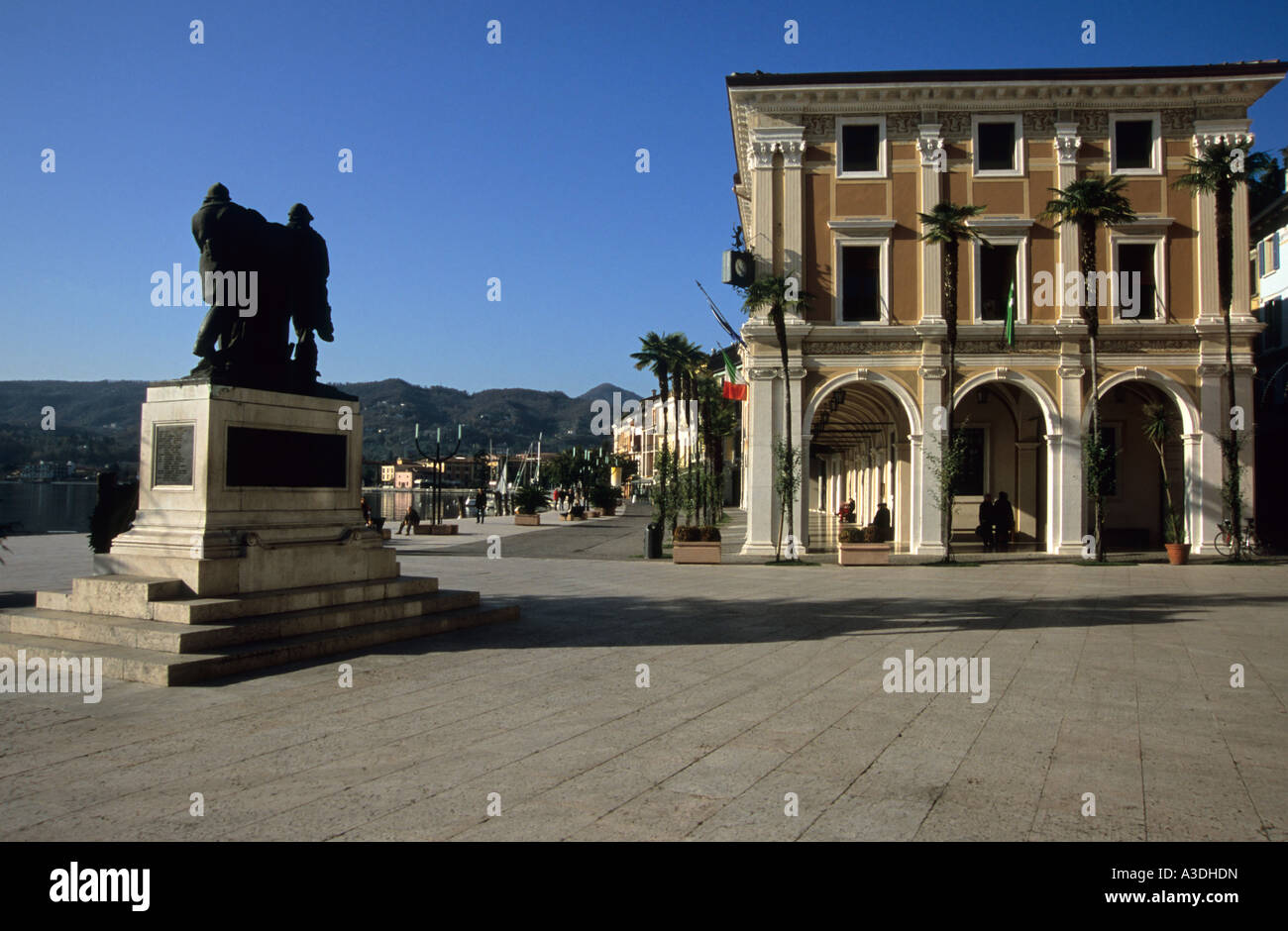 Piazza della Vittoria, Salo Banque D'Images