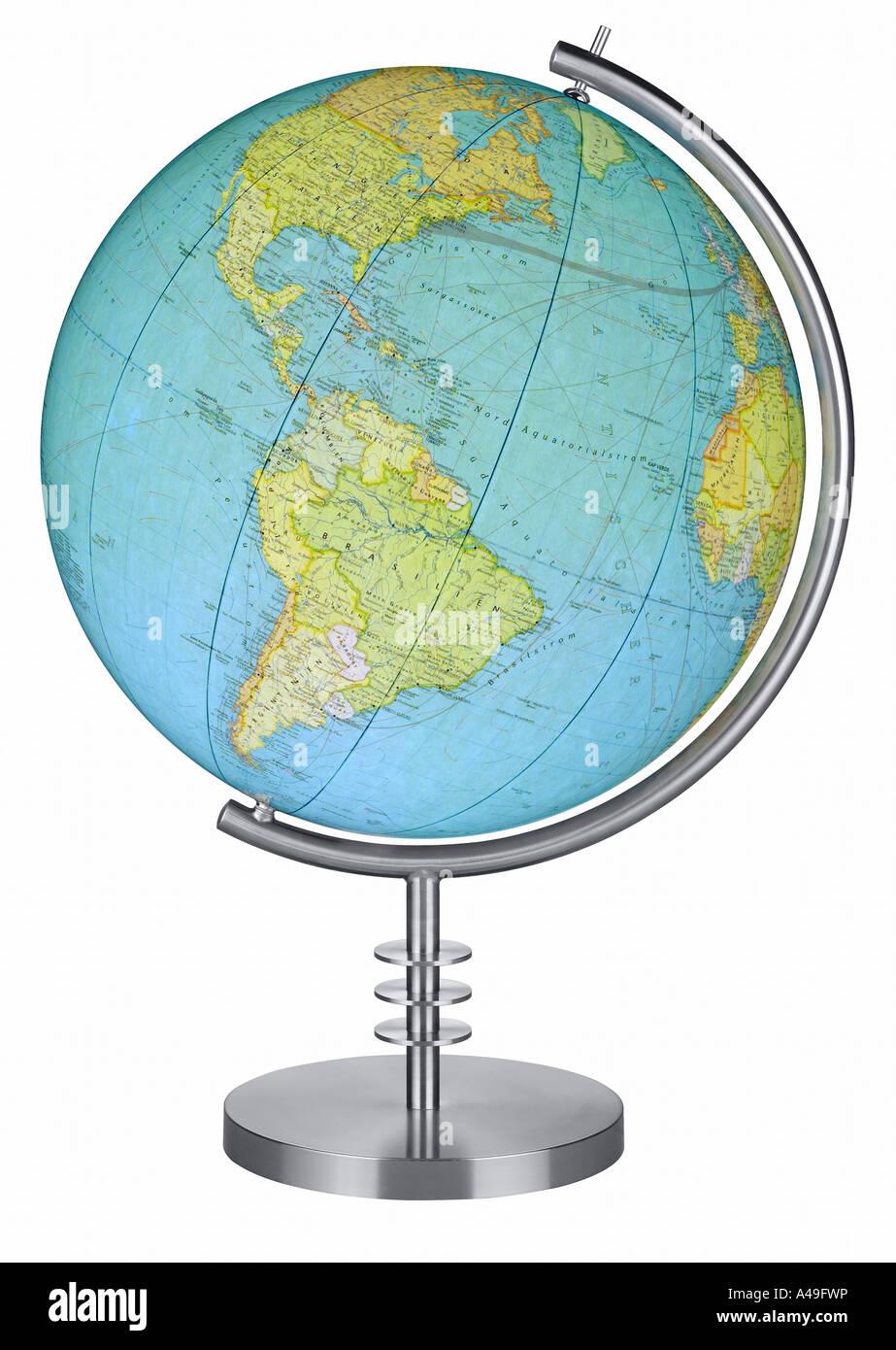 Un globe Photo Stock