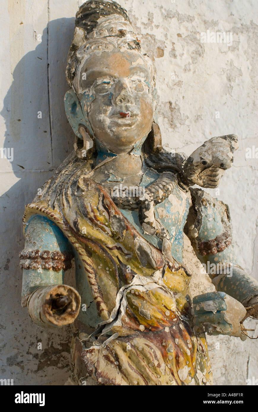 Image de petit temple Dieu à Pushkar Inde Photo Stock