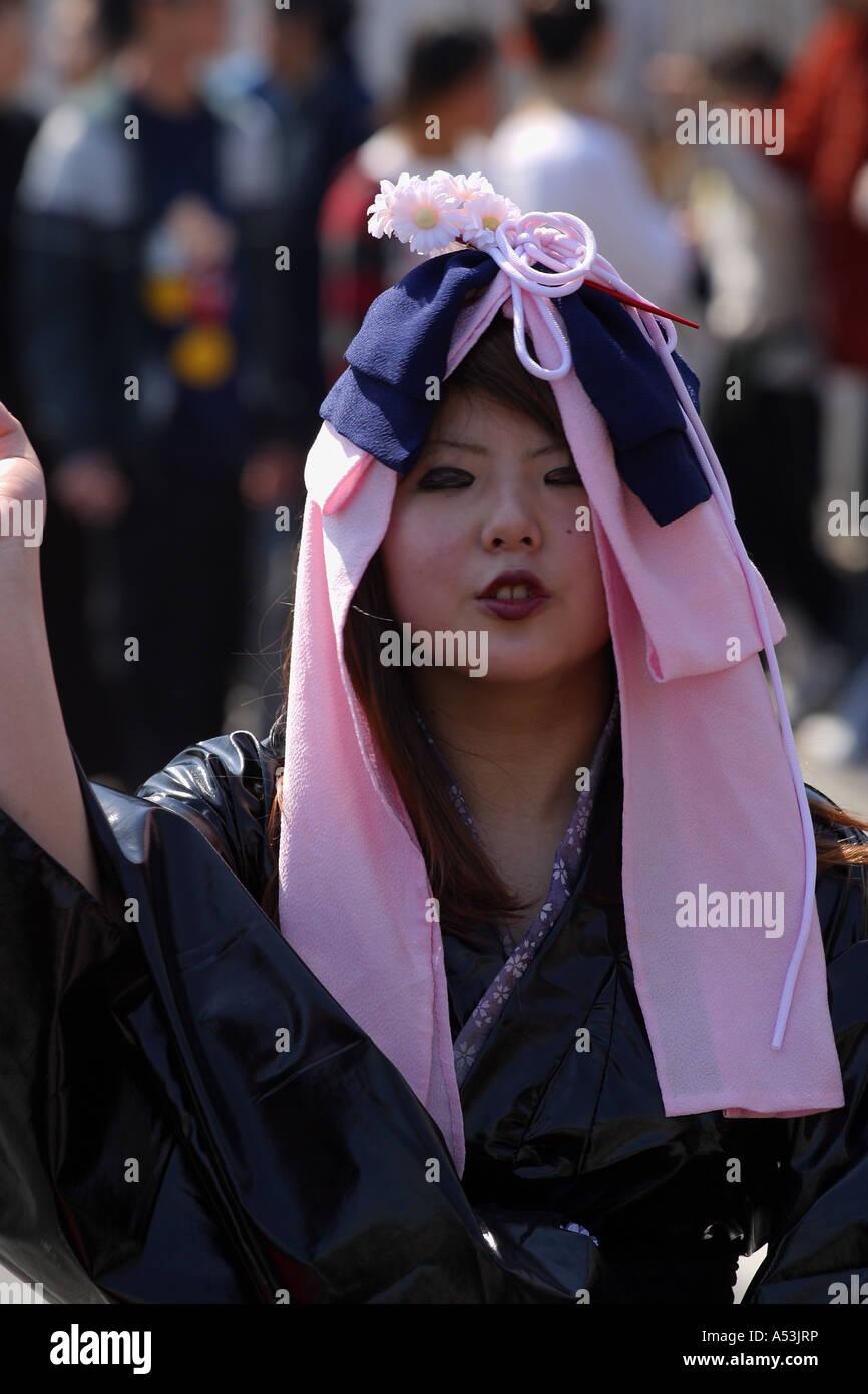 Tokyo Japon Japon voyage gril jeune goth cosplay Photo Stock