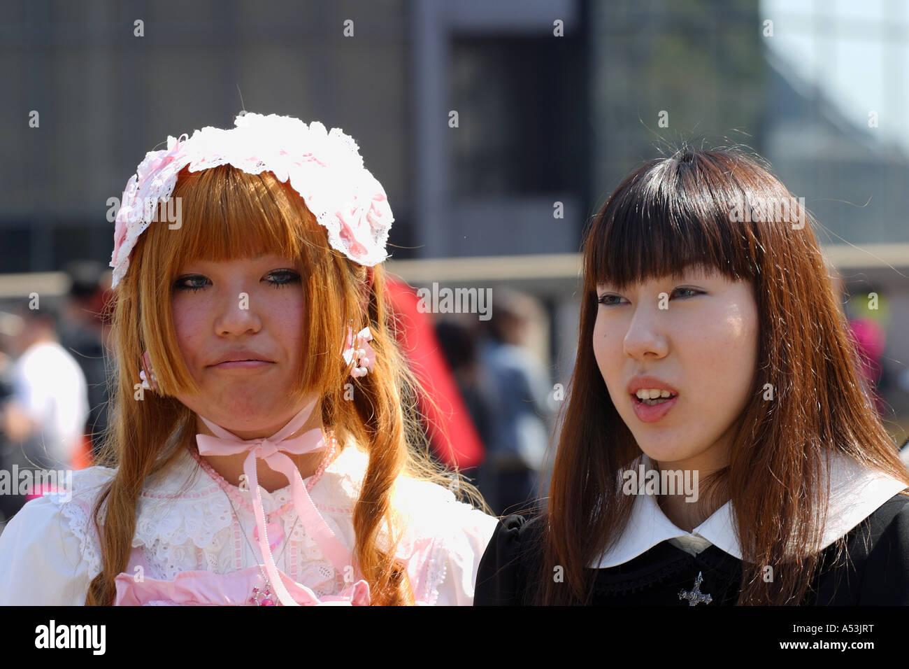 Tokyo Japon billet jeune gril Photo Stock