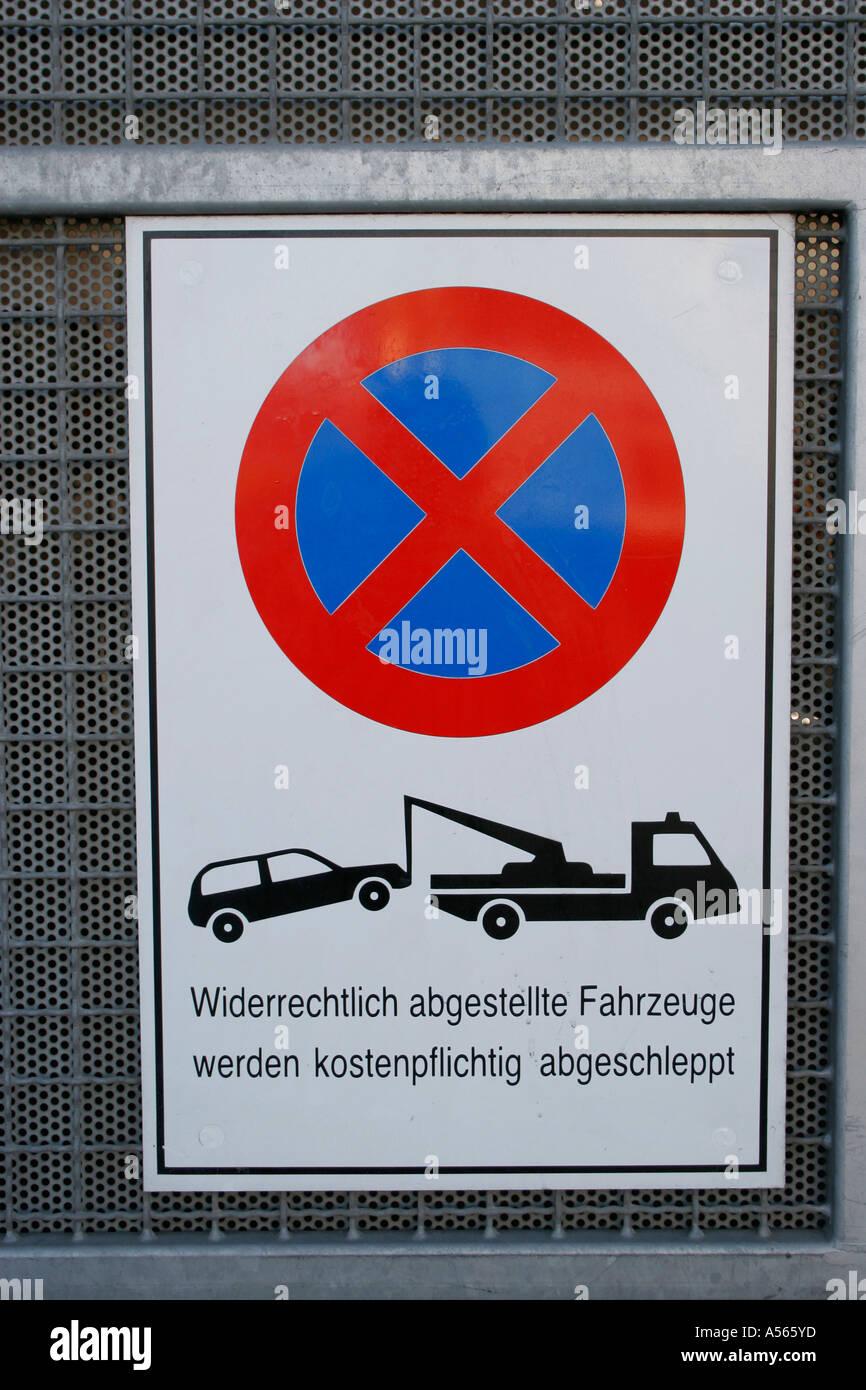 Restriction d'arrêt Photo Stock