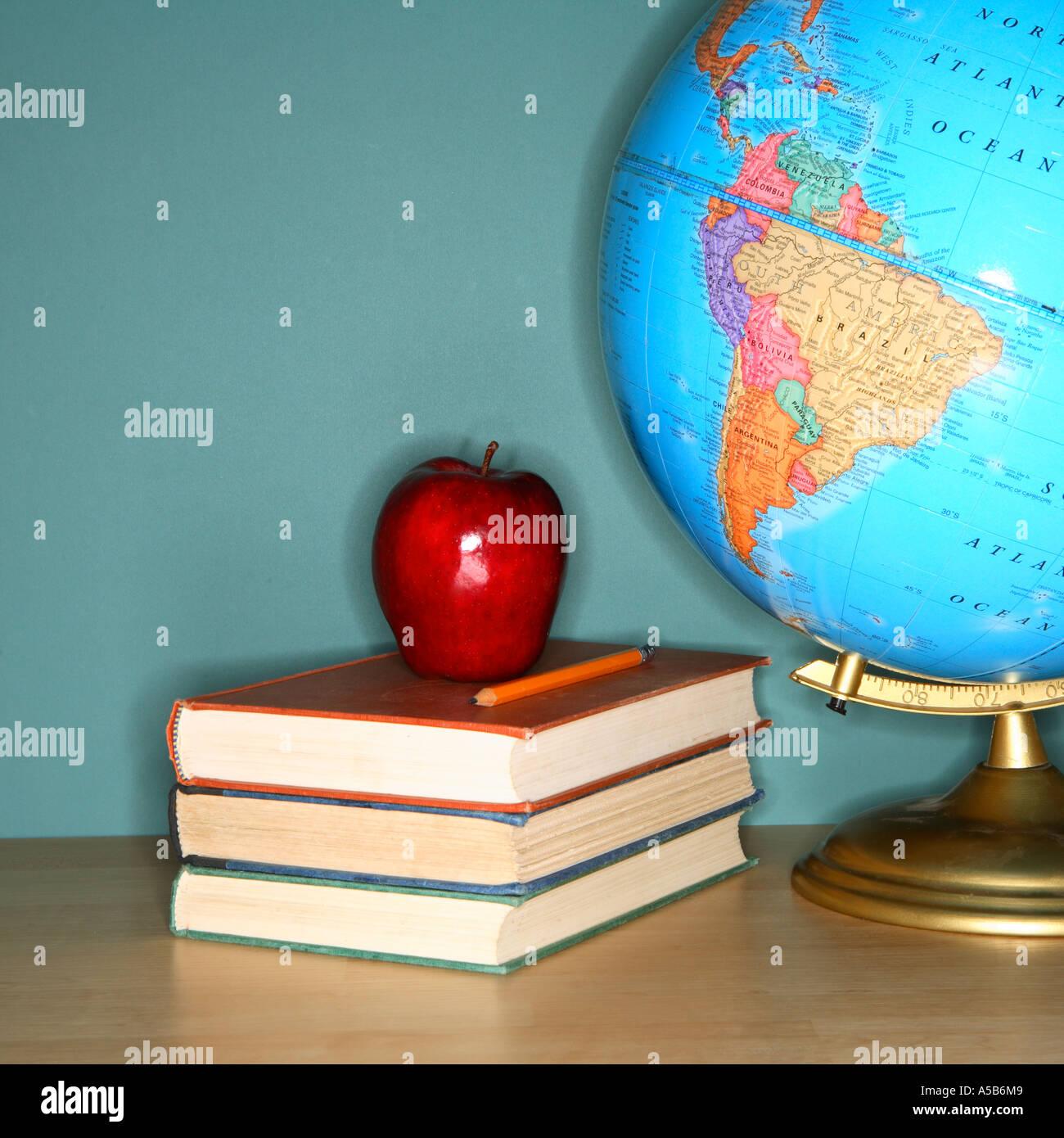 La vie encore l'éducation Photo Stock