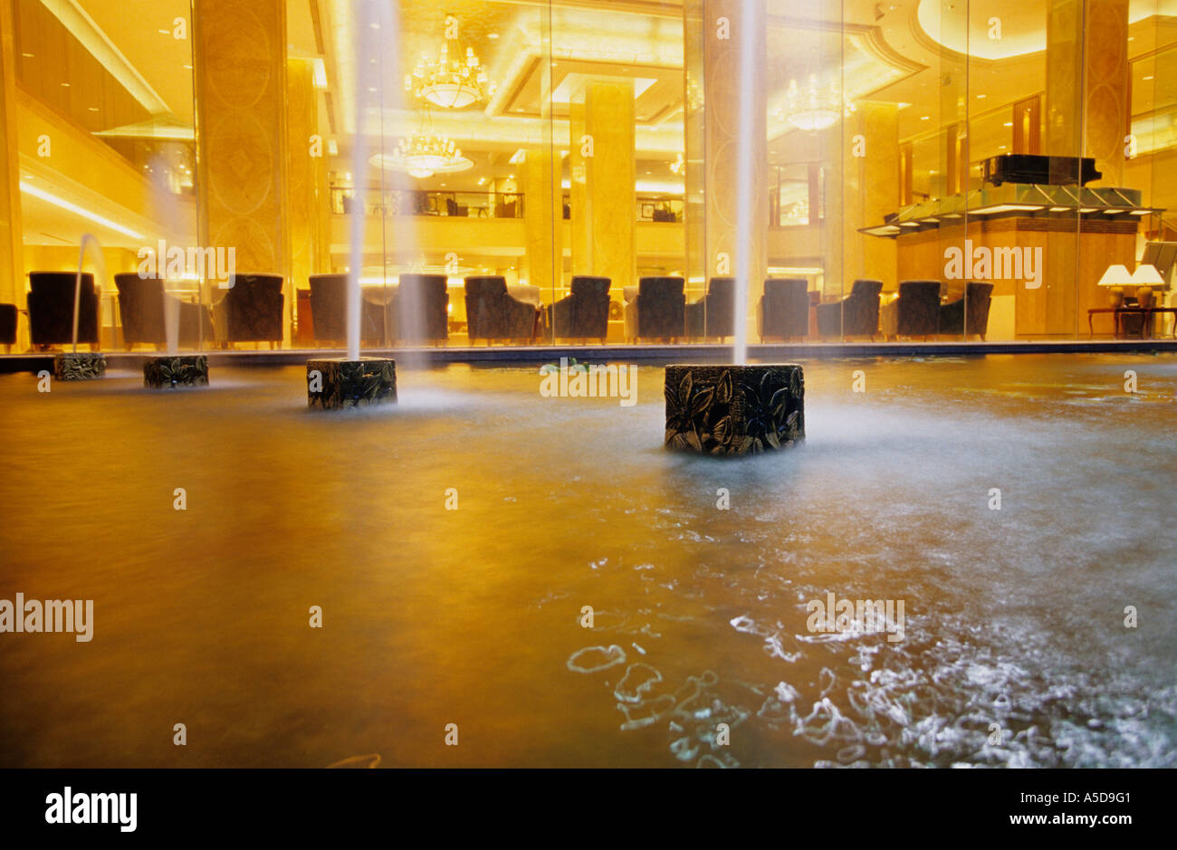 Ambiance chaleureuse, Hotel, Kuala Lumpur, Malaisie Photo Stock