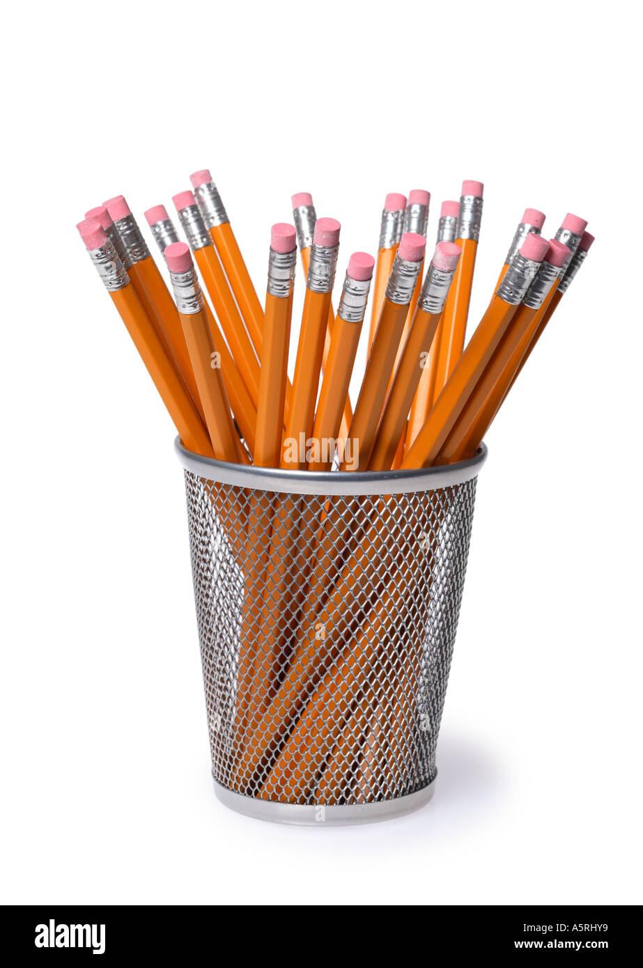 Porte-crayon Photo Stock